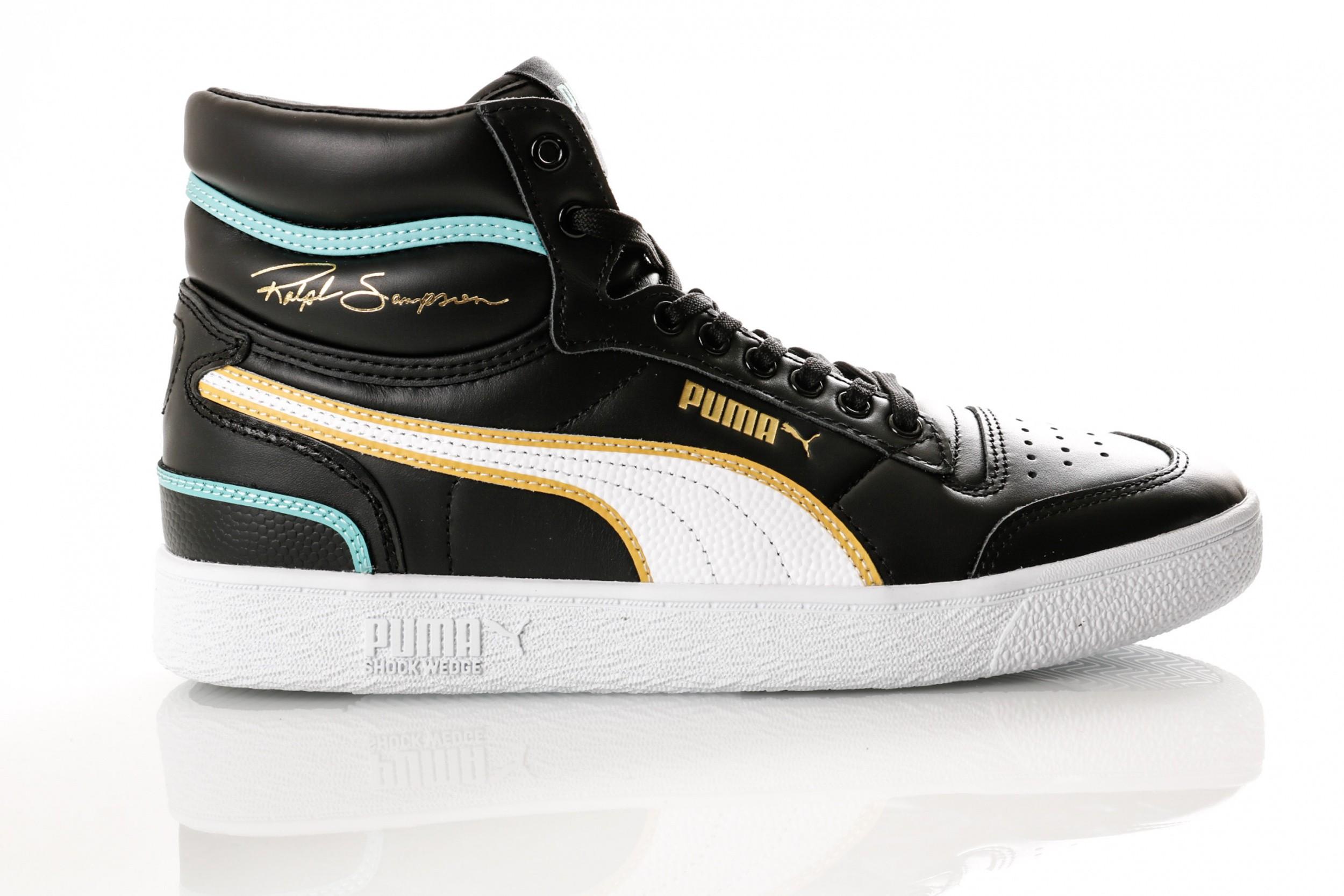 5c8e0528018 Puma Ralph Sampson Mid Hoops 370842 01 Sneakers Puma Black-Puma White-Puma  White