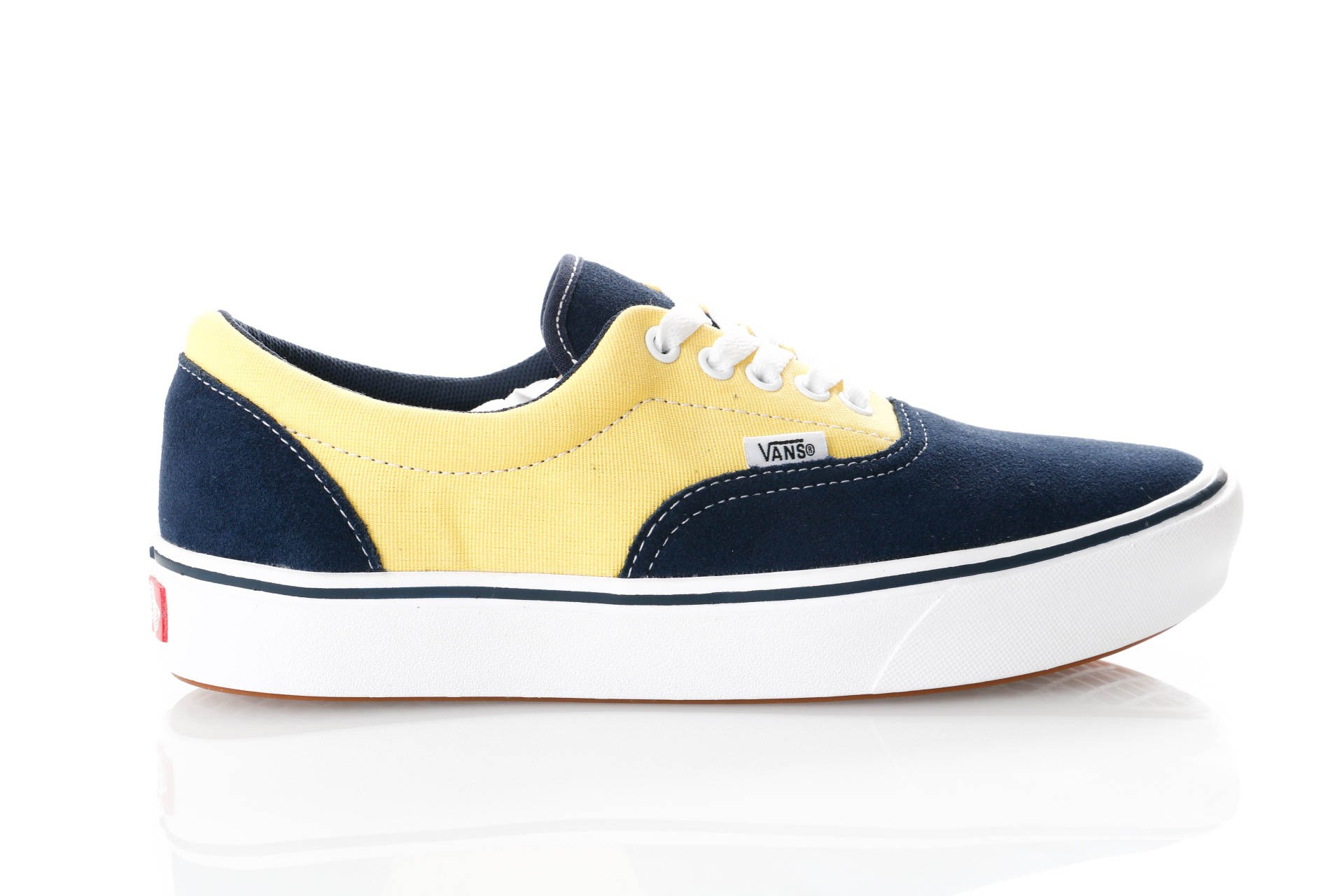 Foto van Vans Ua Comfycush Era Vn0A3Wm9Vno Sneakers (Suede/Canvas) Dress Blues/Aspen Gold
