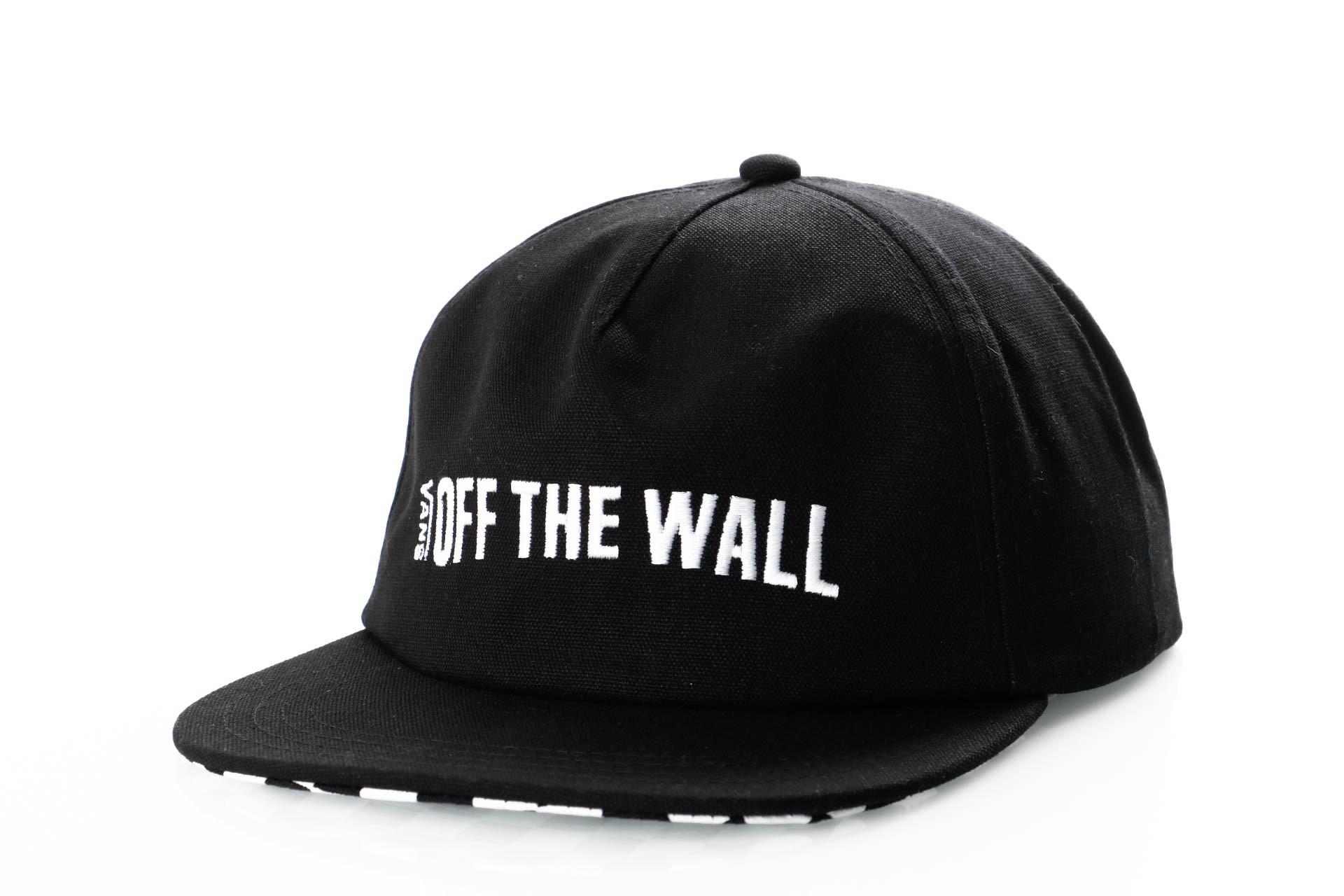 Foto van Vans CENTRAL HAT VN0A3WF7BLK Snapback cap BLACK