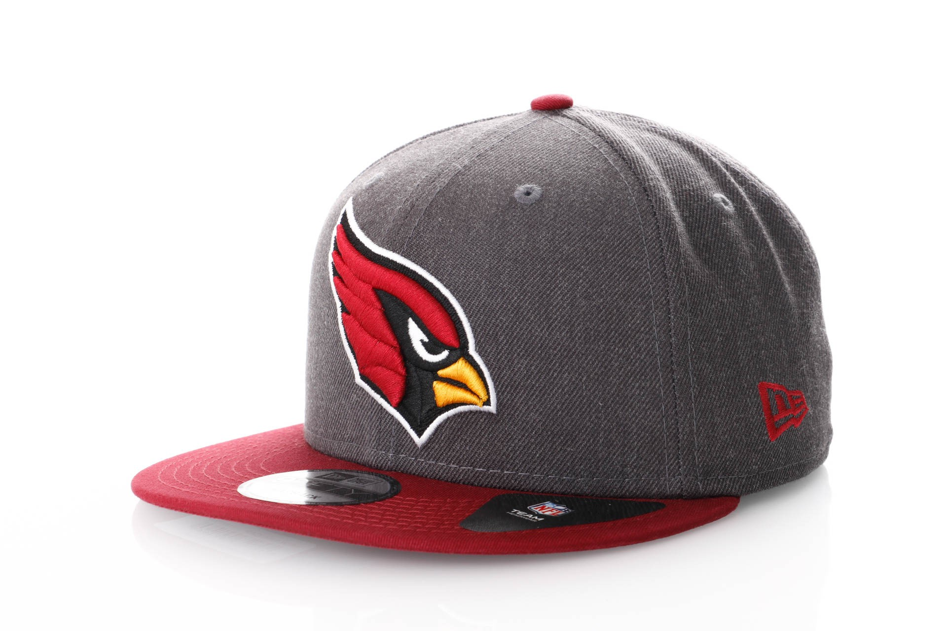 Foto van New Era Nfl Heather 9Fifty 11871355 Snapback Cap Graphite/Offical Team Colour Nfl Arizona Cardinals