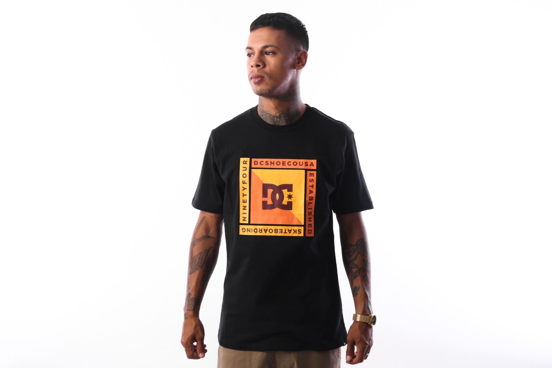 Afbeelding van DC ARKANA SS M TEES KVJ0 EDYZT03751 t-shirt black