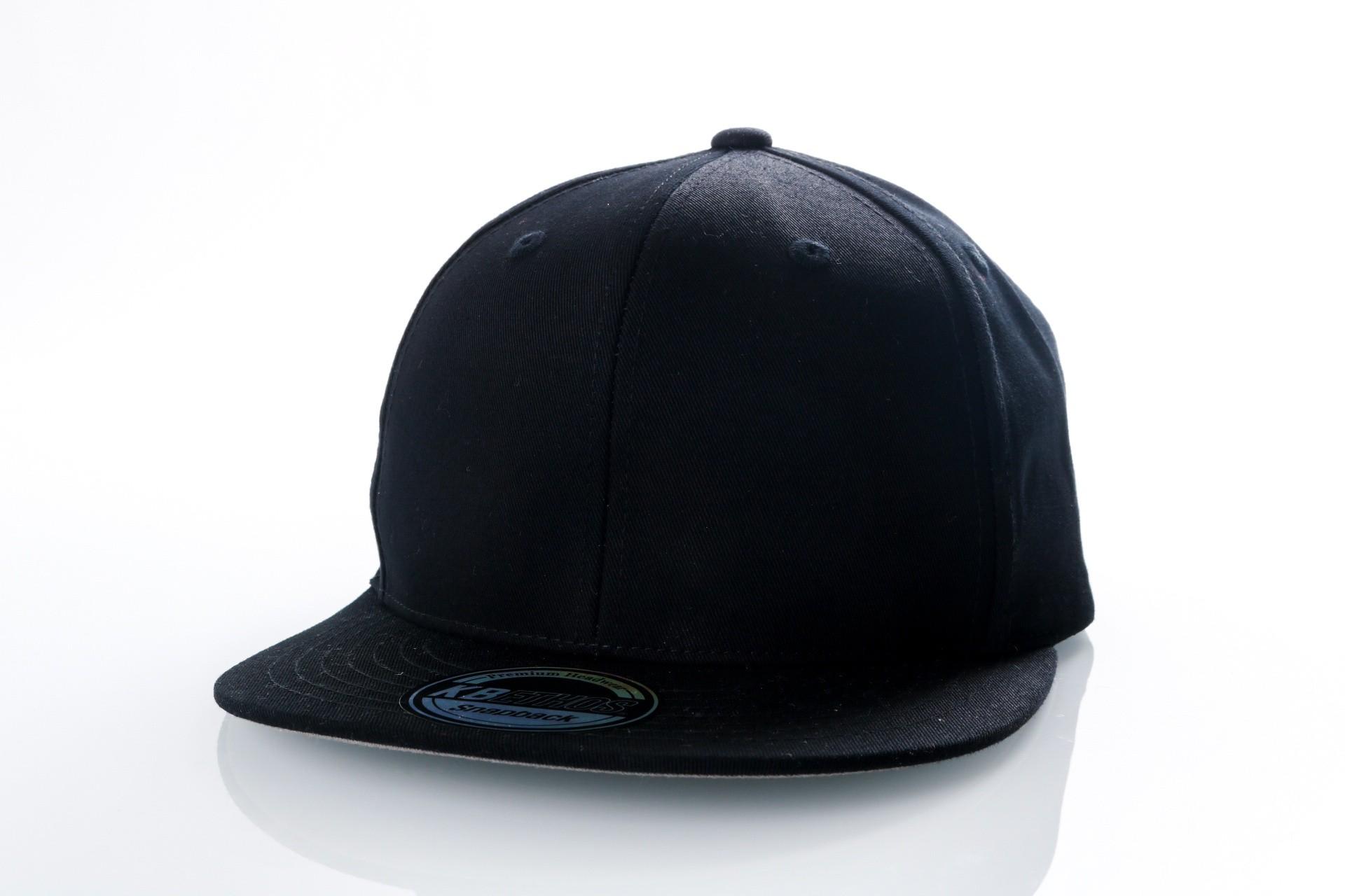 Foto van Ethos Basic snap KNW-1467 black KNW-1467 dad cap black