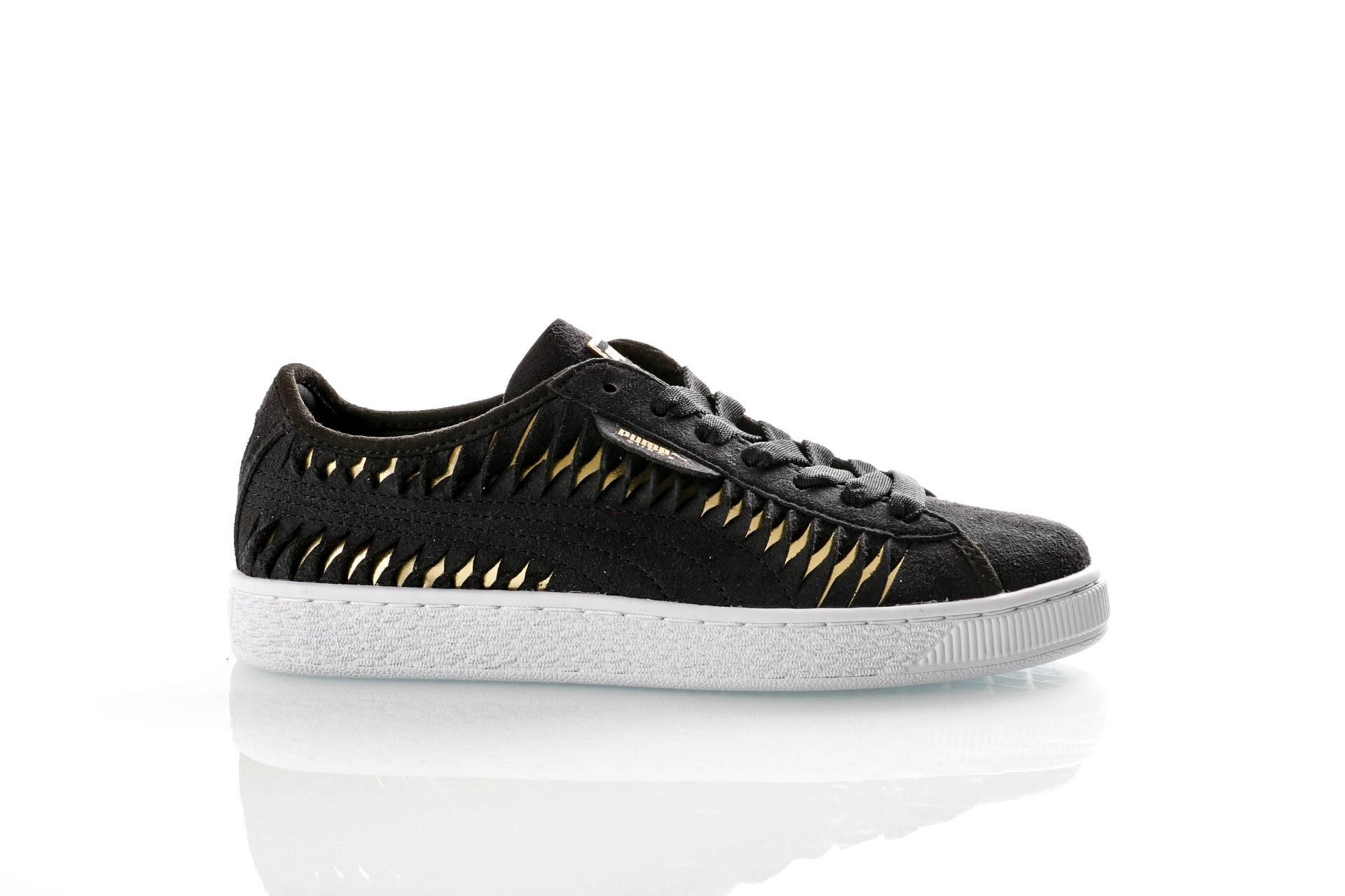 Foto van Puma Ladies 365471-02 Sneakers Suede entwine Zwart
