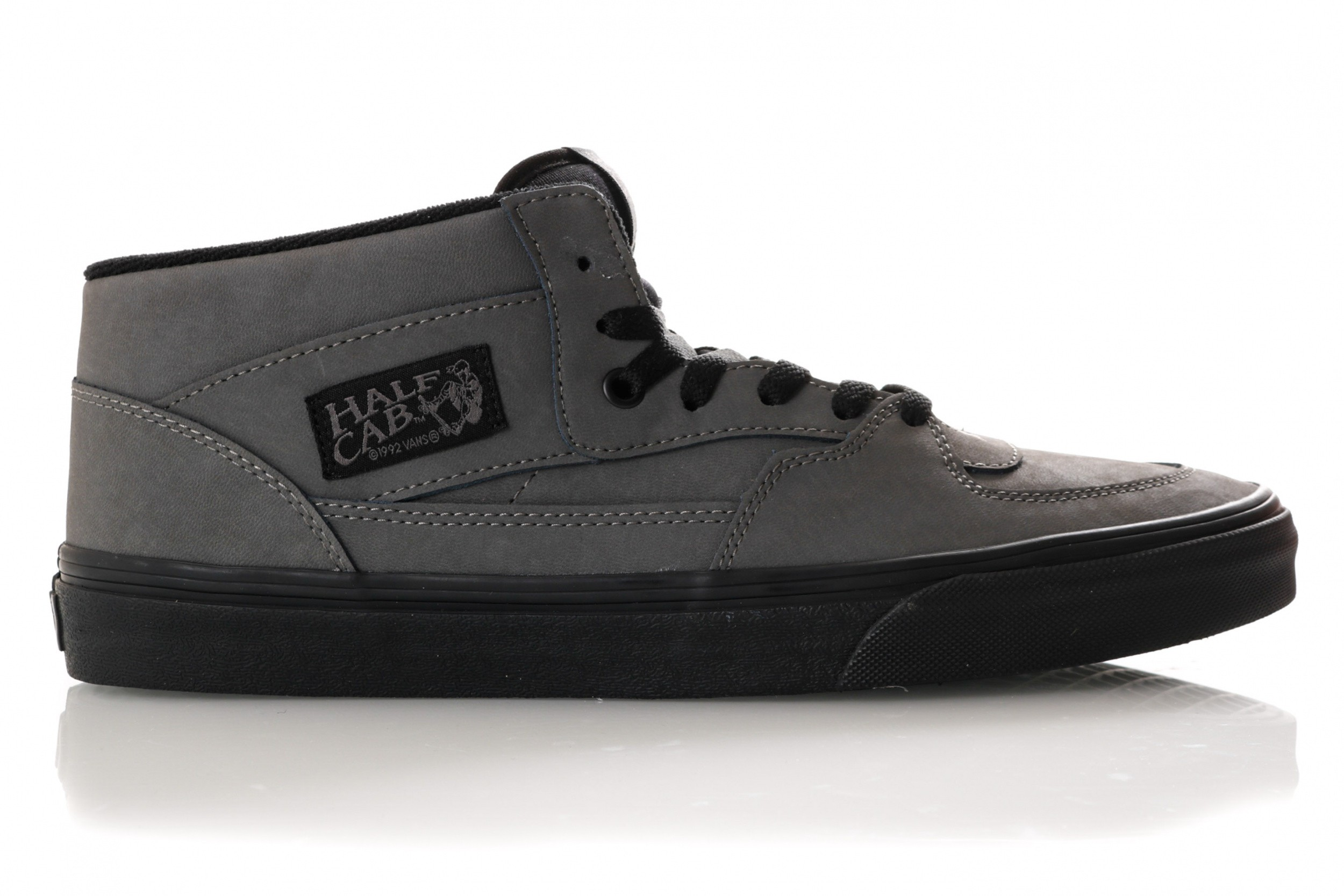 b7d793c7931 Vans UA Half Cab VN0A348EUMJ1 Sneakers (VANSBUCK) PEWTER/BLACK
