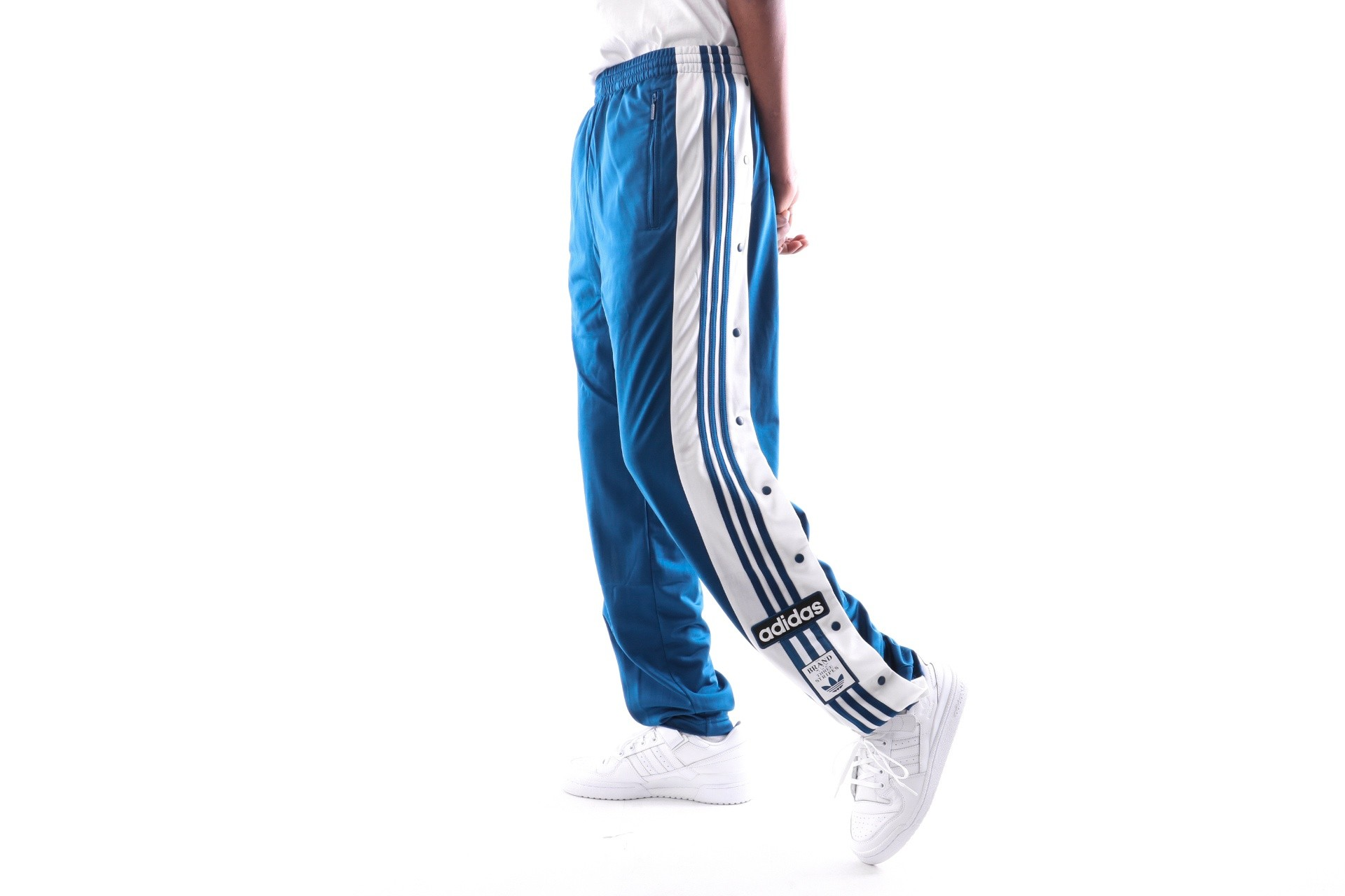 Foto van Adidas Snap Pants Dv1592 Trainingsbroek Legend Marine