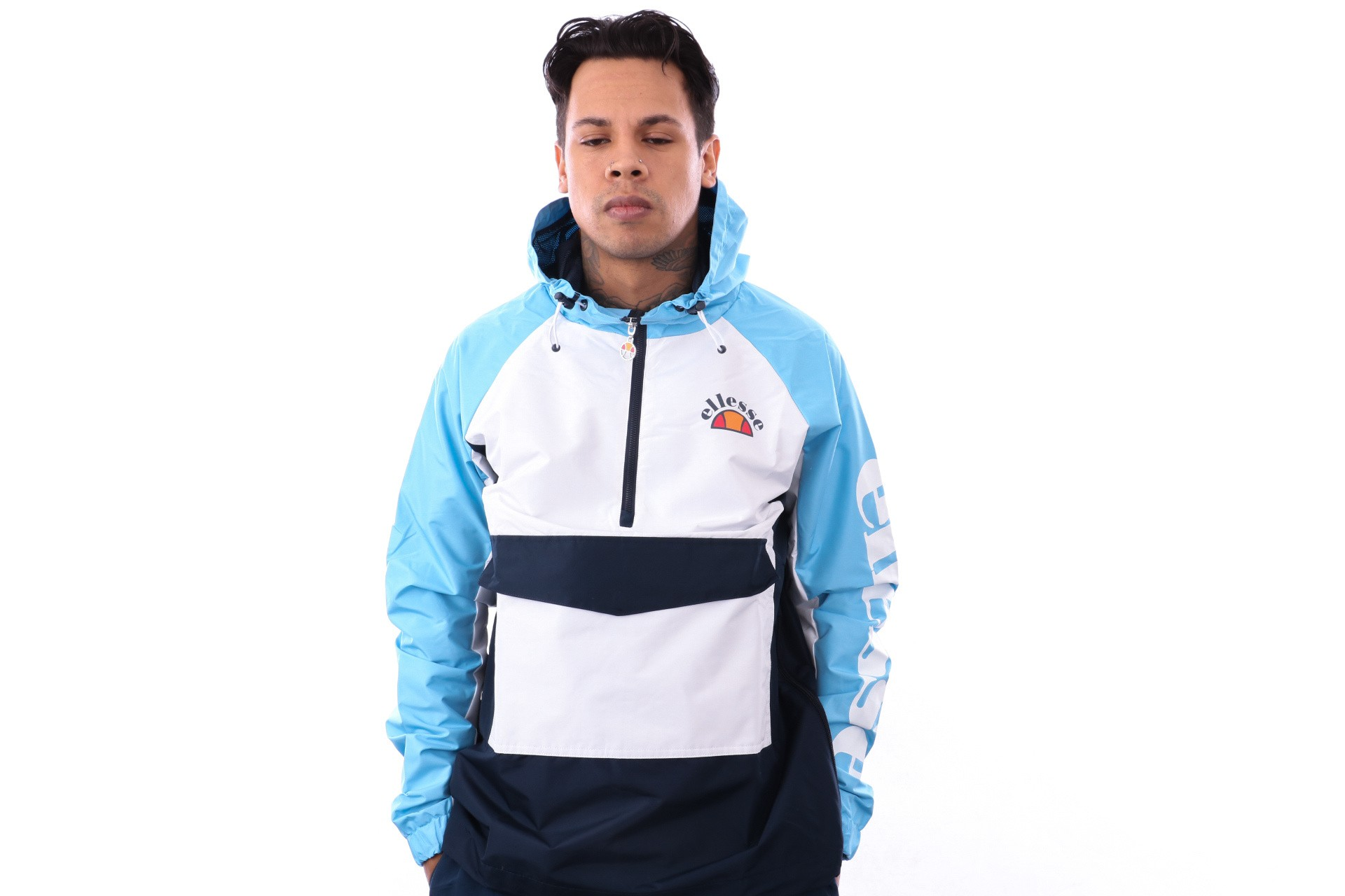 Foto van Ellesse Mercuro SHA06344 Jacket Light Blue