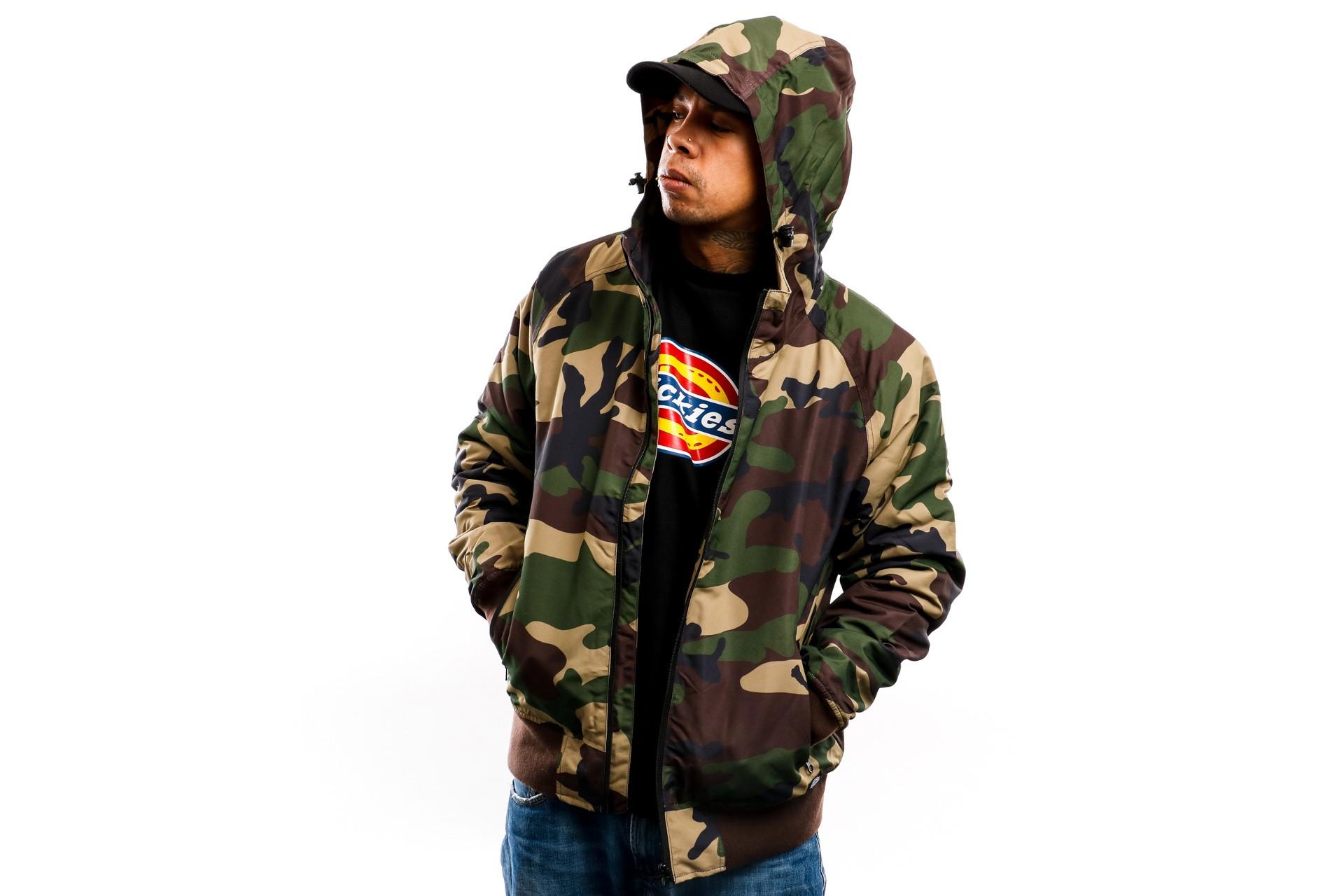 Foto van Dickies Jas Fort Lee Jacket DK720322CF01 Camouflage
