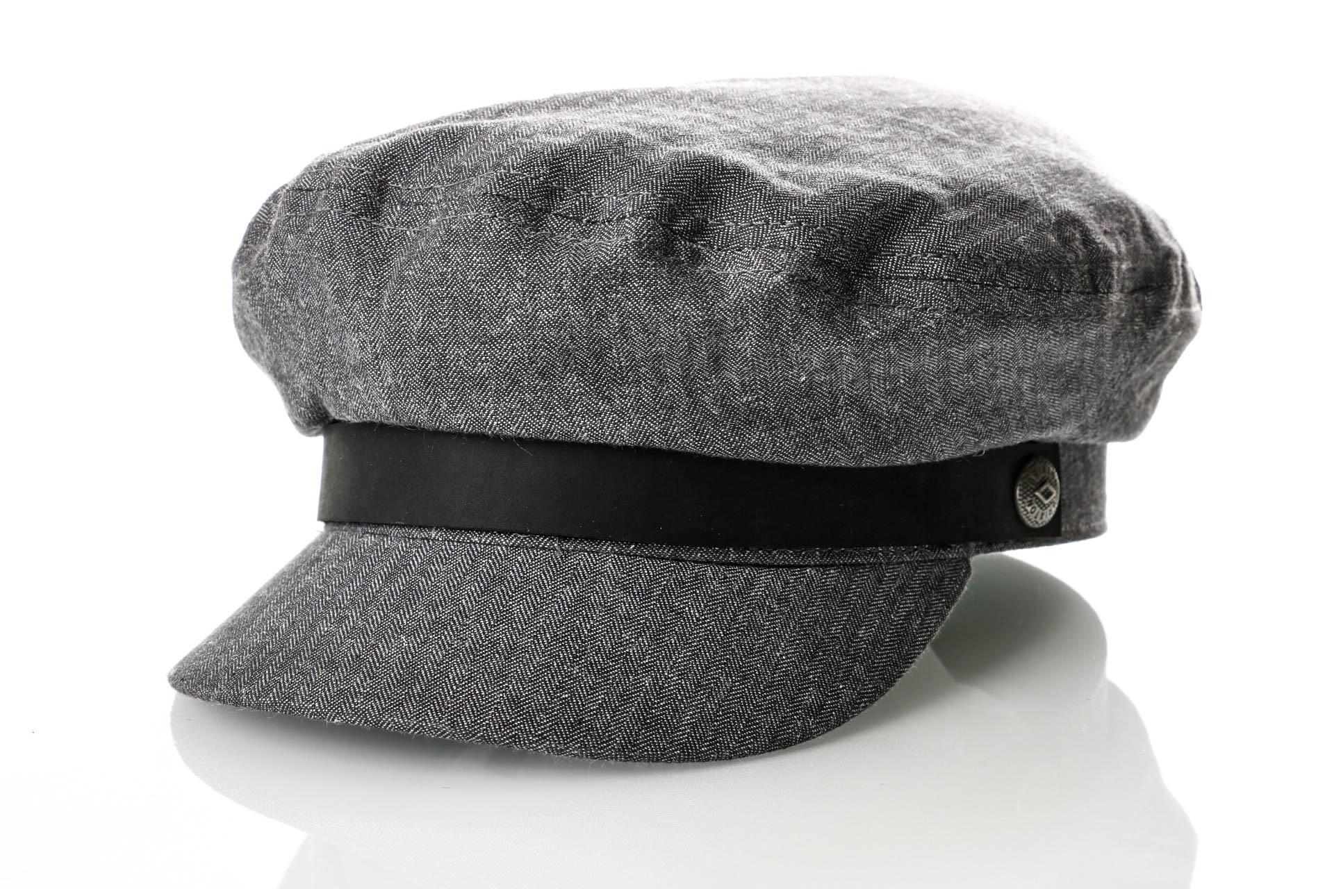 Foto van Brixton FIDDLER CAP 4 Flatcap MIDDLE GREY