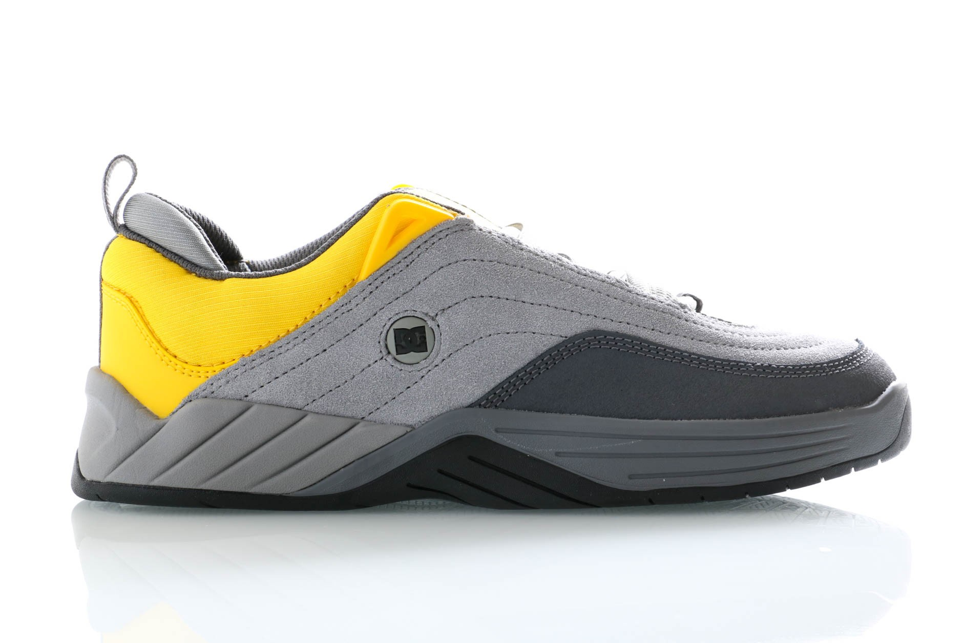 Foto van DC Sneakers Williams Slim Grey/Yellow ADYS100539