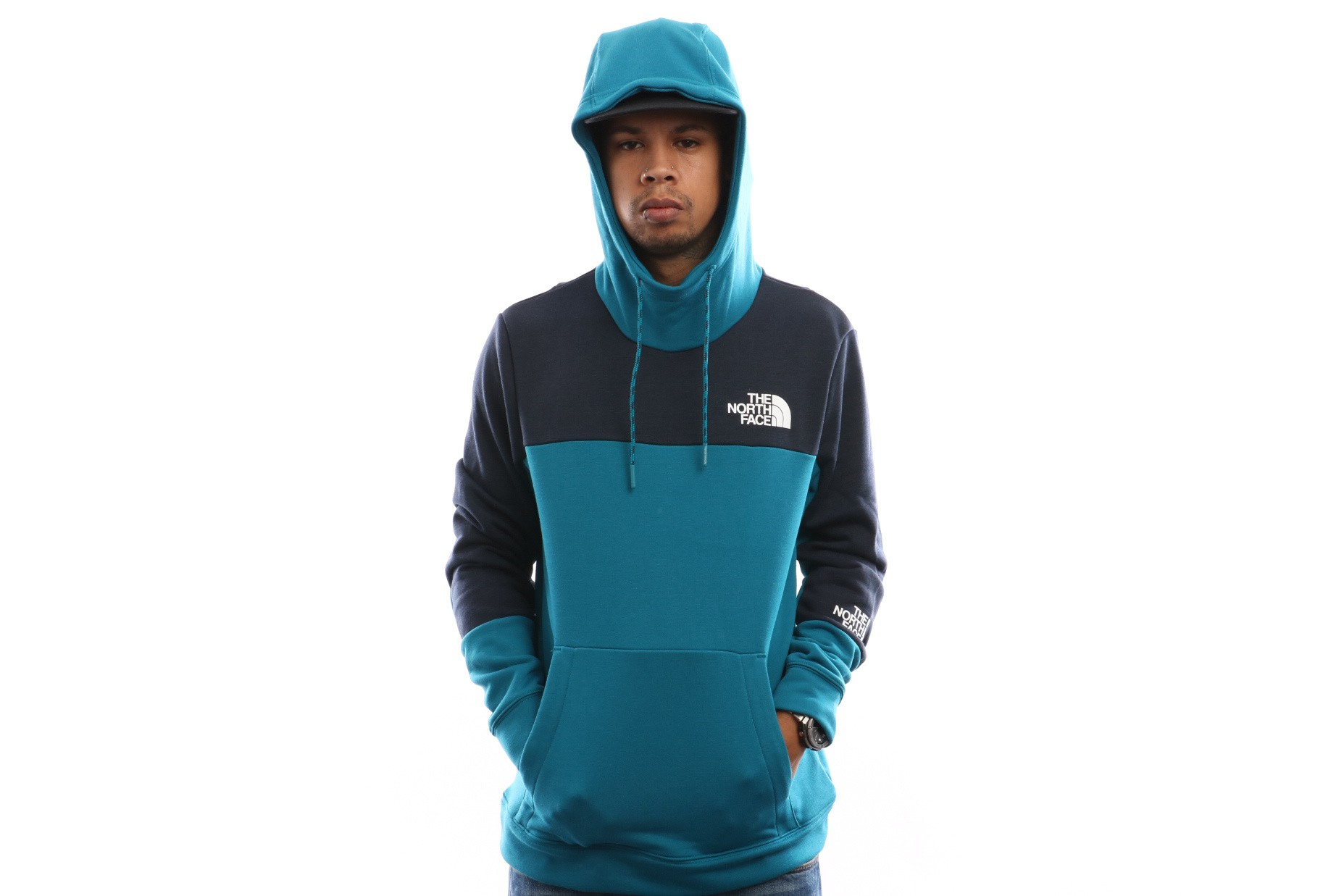 Foto van The North Face M Lht Hoody T93RYV8EE Hooded Crystal Teal