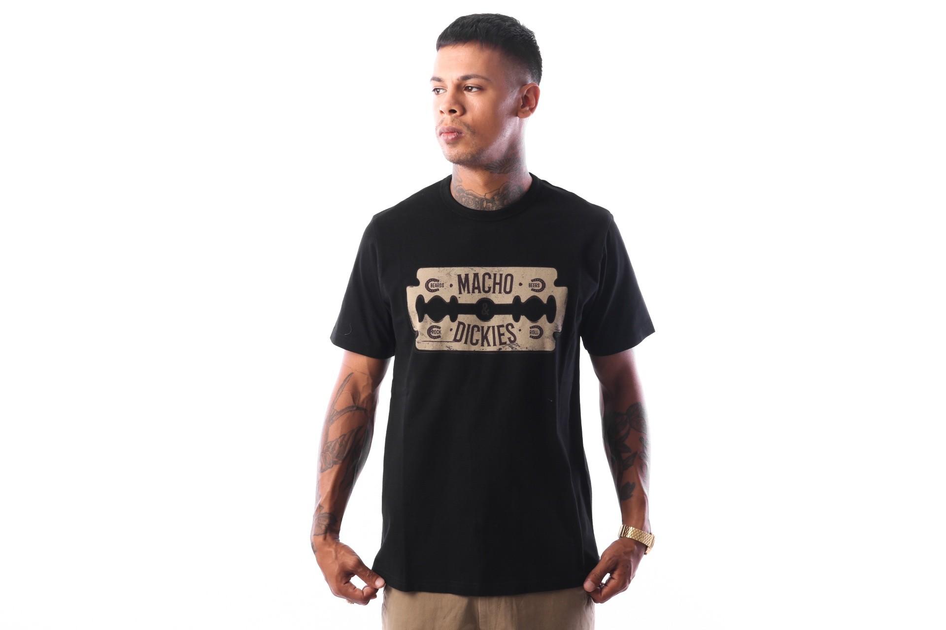 Afbeelding van Dickies Channing 06 210576 T shirt Black