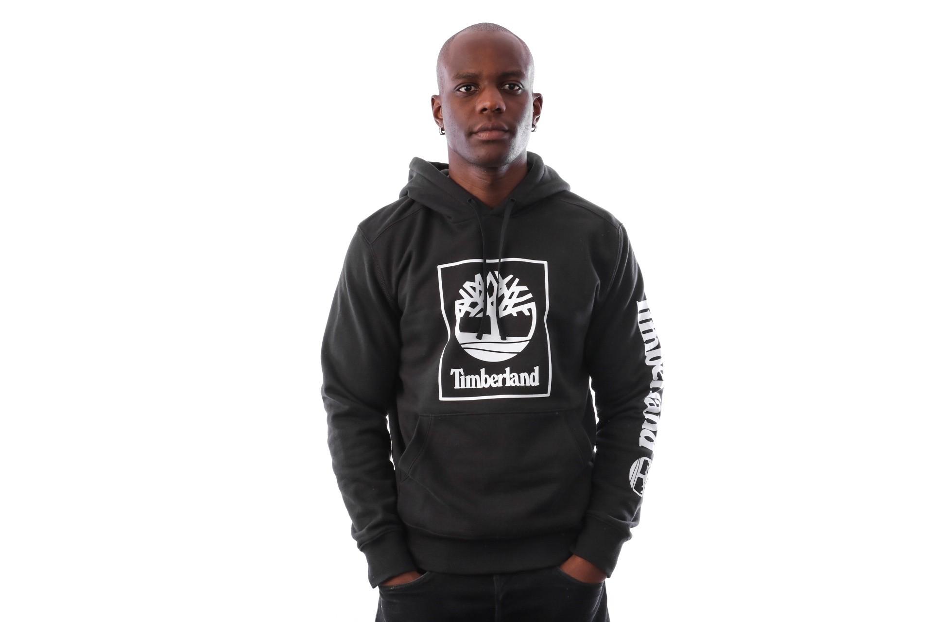 Foto van Timberland SLS Seasonal Logo hoodie sweat TB0A1N9B0011 Hooded Black