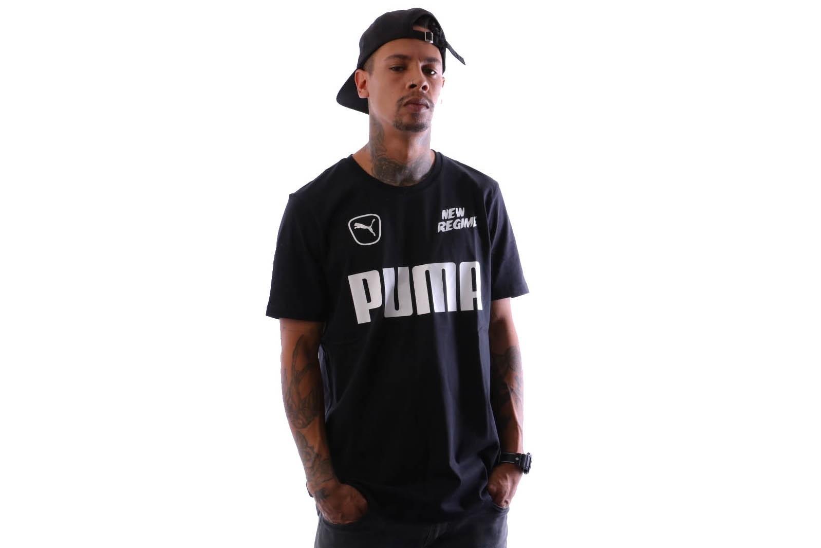Foto van Puma ANR Tee 576550 T shirt Puma Black