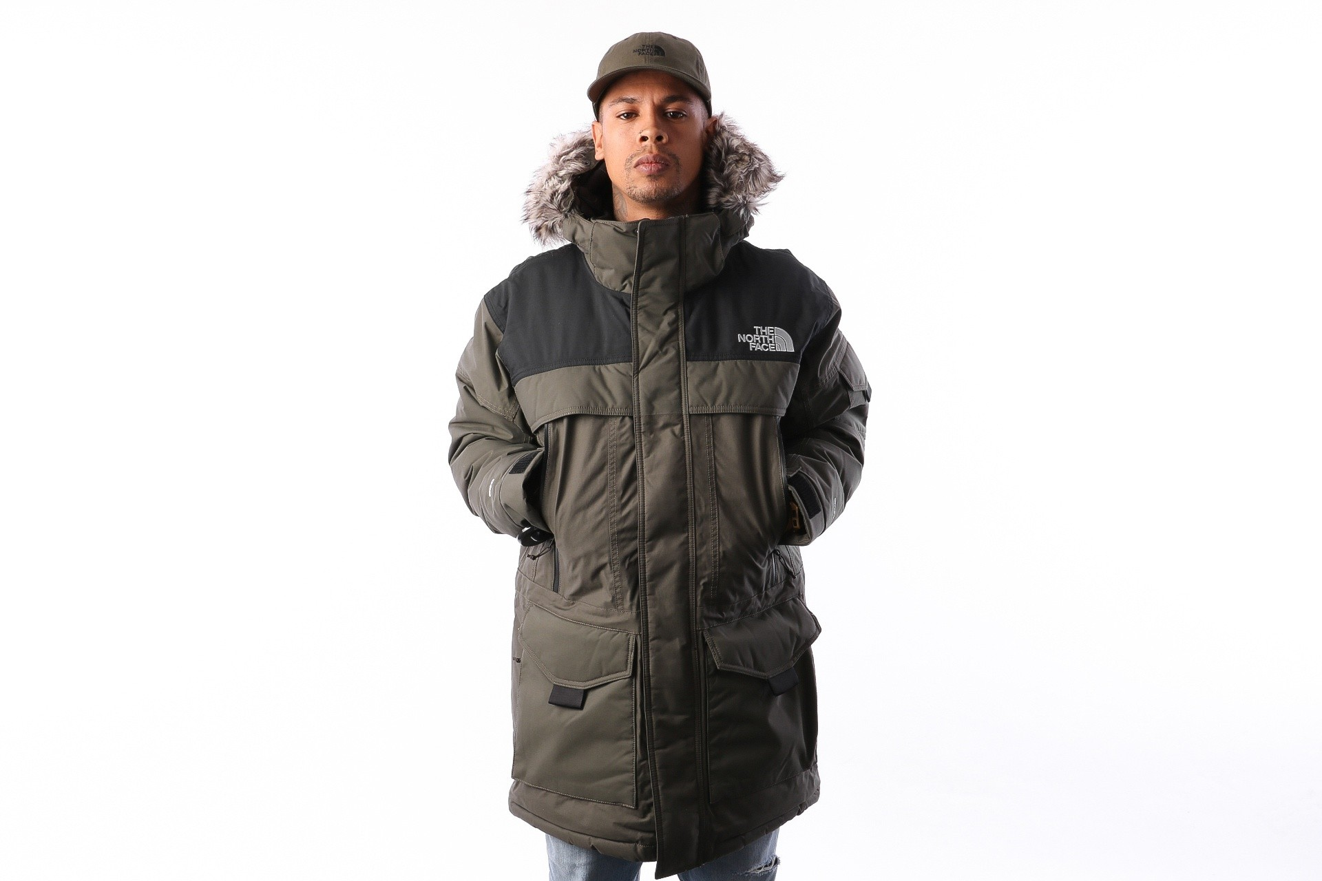 Foto van The North Face M MC MURDO 2 T0CP07BQW jas NEW TAUPE GREEN/TNF BLACK