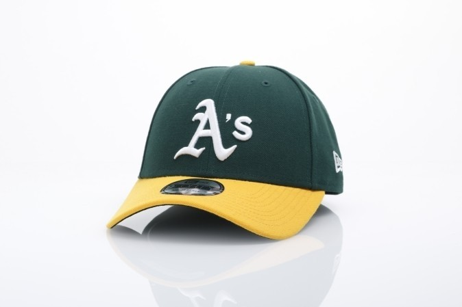 Afbeelding van New Era 10047540 Dad cap The league Oakland Athletics Official team colors