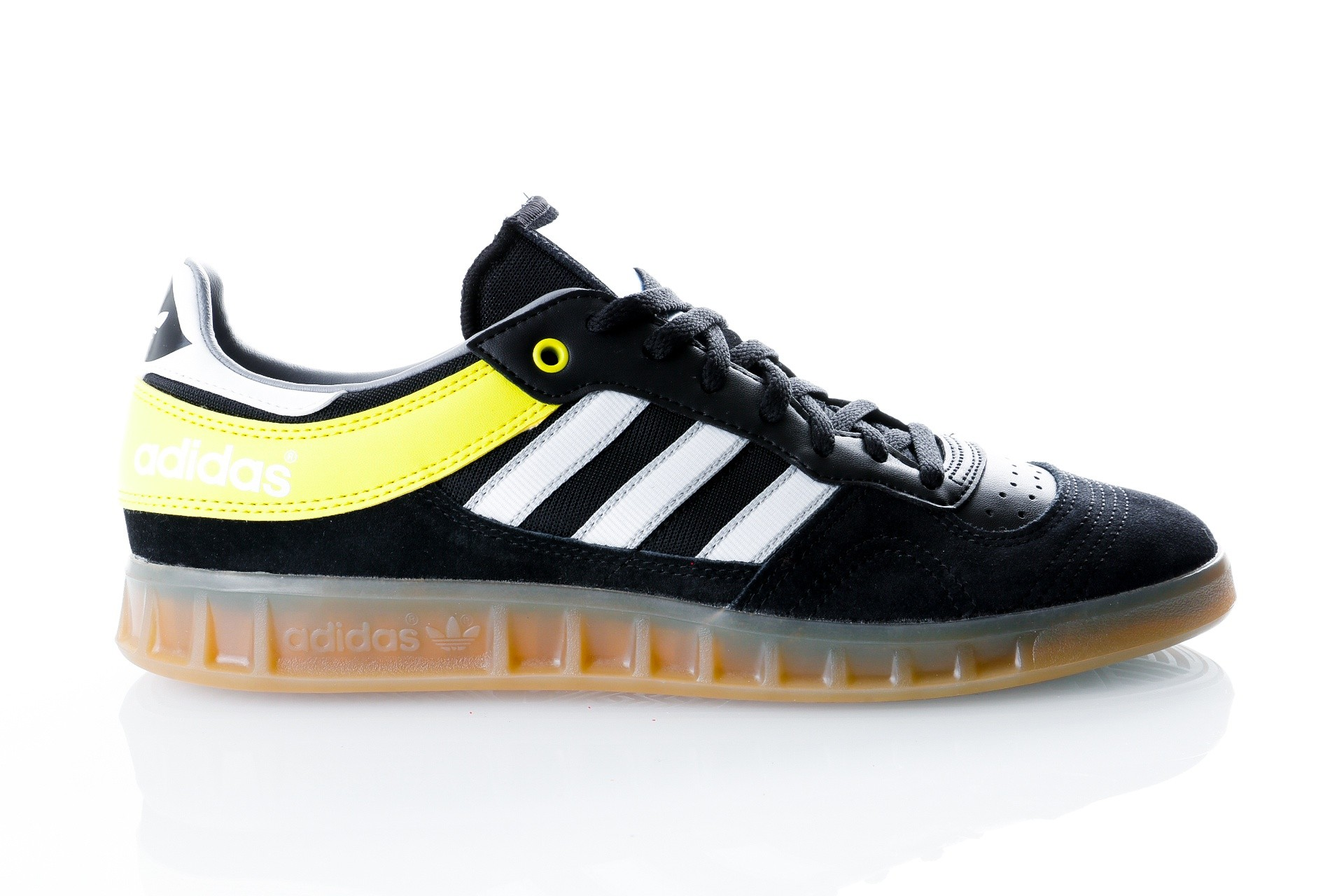 Afbeelding van Adidas Handball Top B38029 Sneakers CARBON S18/FTWR WHITE/SHOCK YELLOW