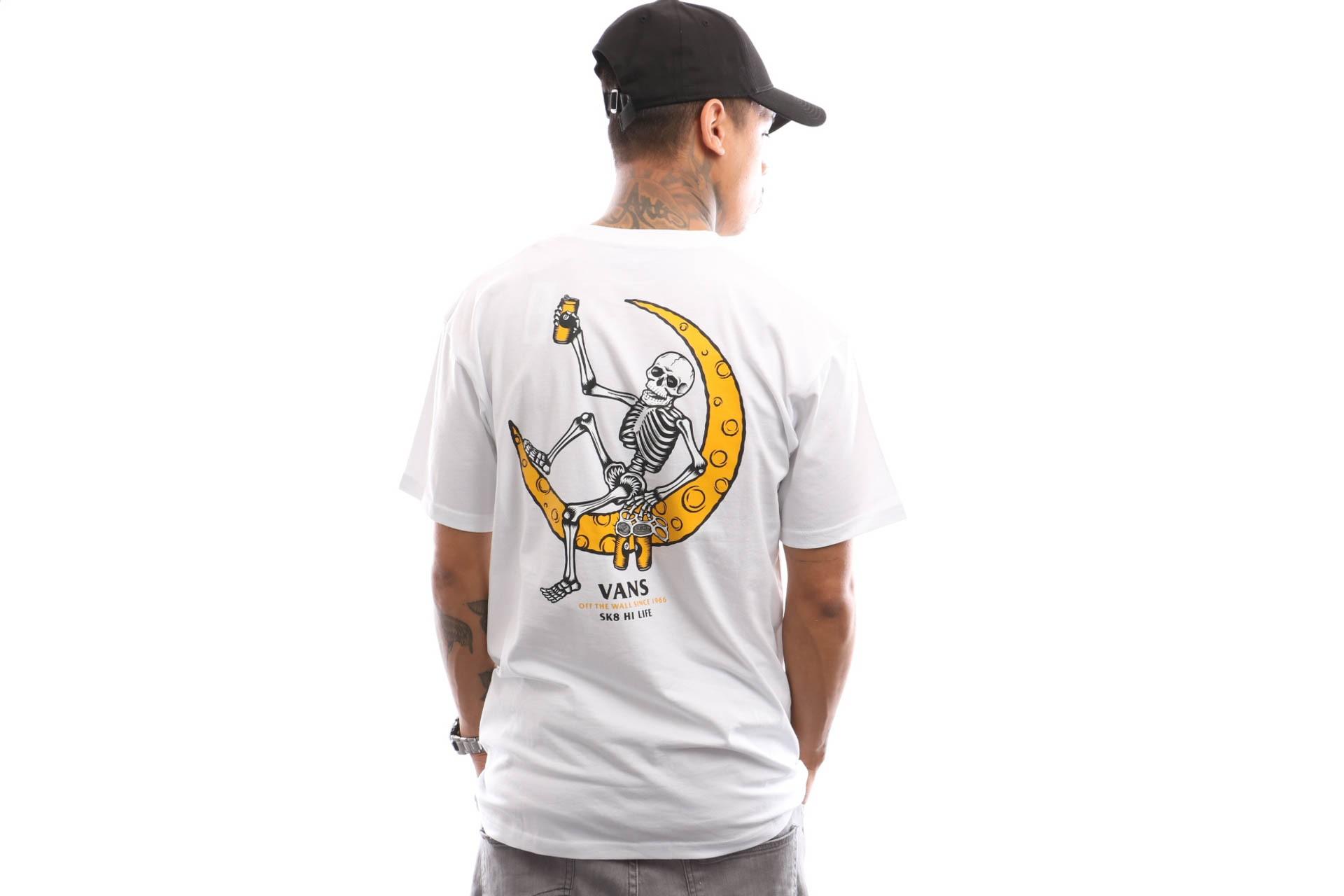 Foto van Vans Moonshine Ss VN0A3W12WHT T shirt White