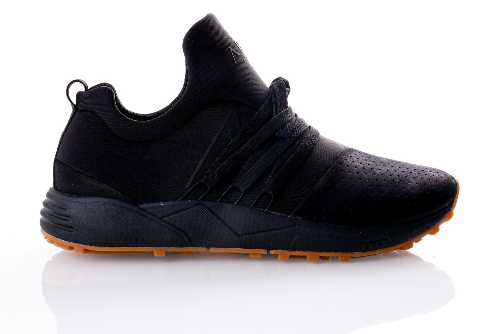 Foto van Arkk Raven Nubuck S-E15 Vibram® Black Gum-M ML1420-0099-M Sneakers Black