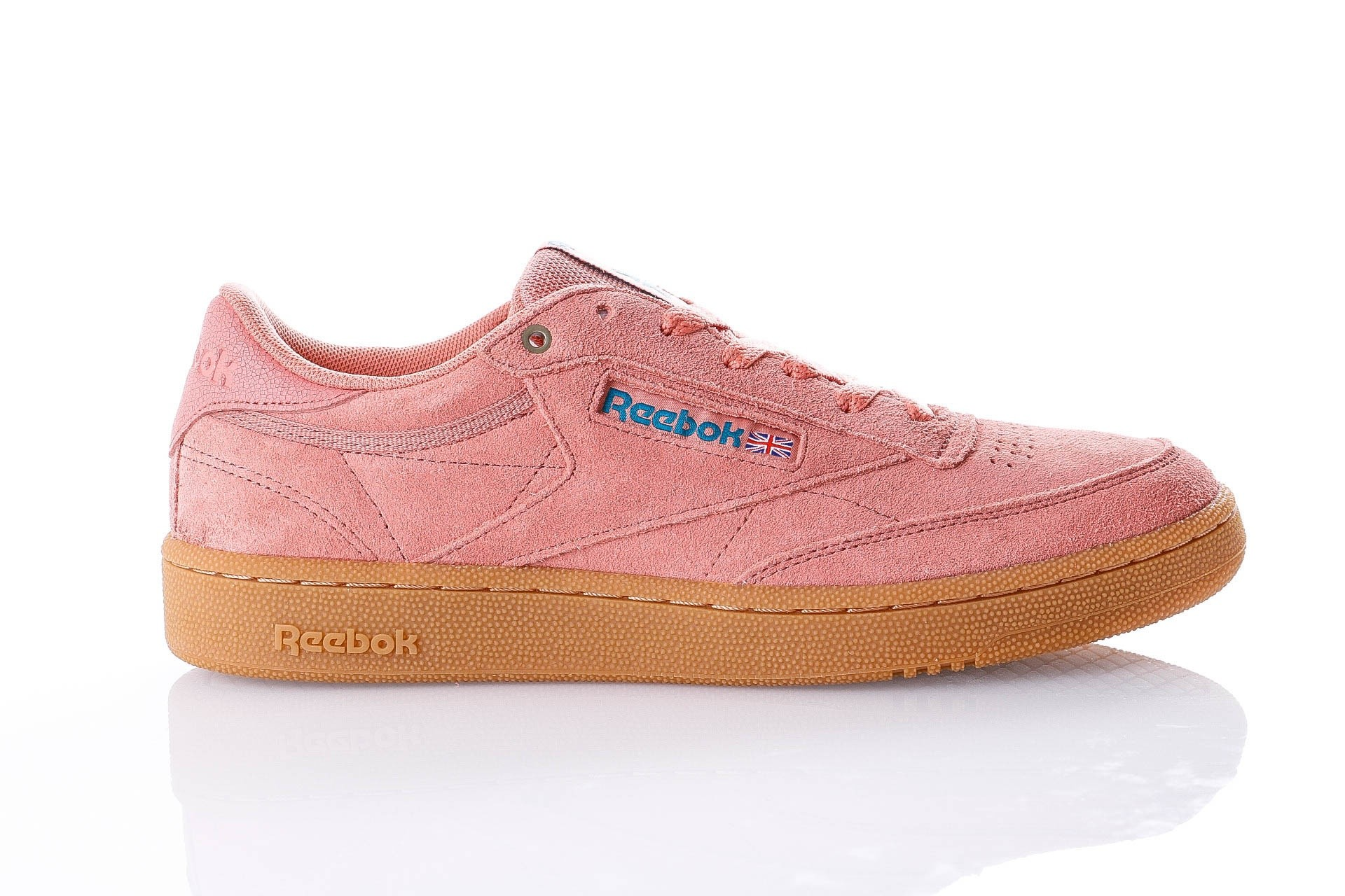 Foto van Reebok CLUB C 85 MU CN3865 Sneakers MC-DIRTY APRICOT/TEAL/GUM