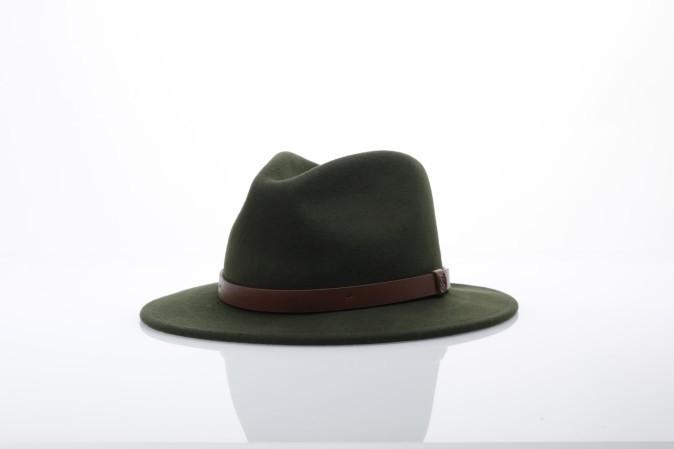 Foto van Brixton 00136 Hat Messer Groen