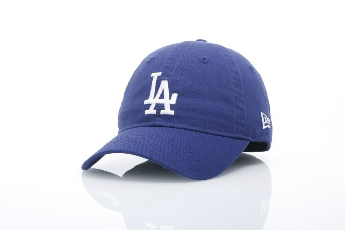 Foto van New Era 11466604 Dad Cap 9Forty Unstructed La Dodgers Blauw