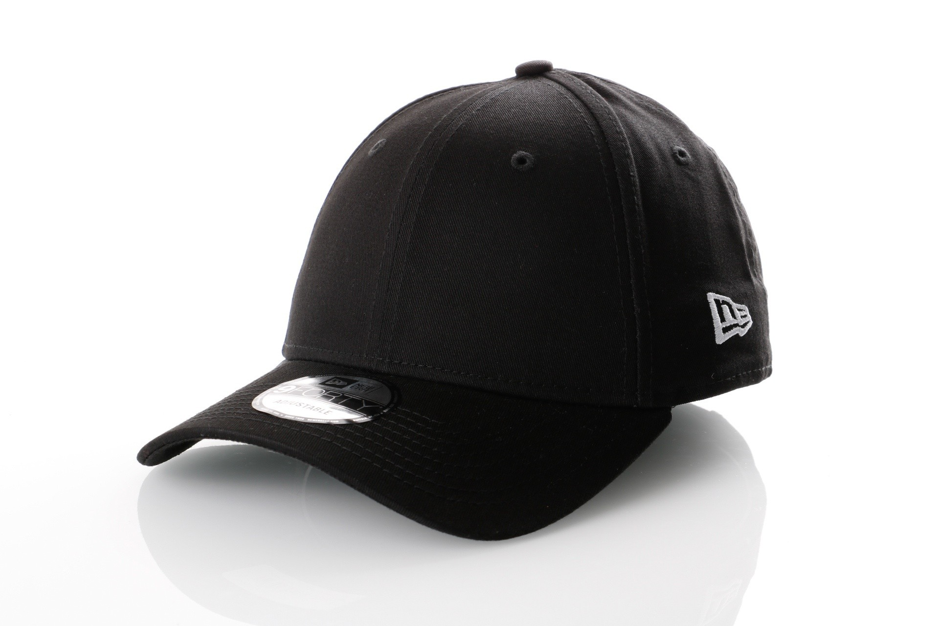 Afbeelding van New Era 11179866 Dad cap Basic 9forty New Era Zwart