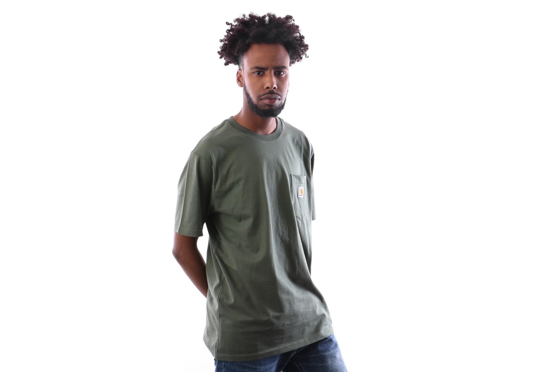 Foto van Carhartt WIP S/S Pocket T-Shirt I022091 T shirt Adventure