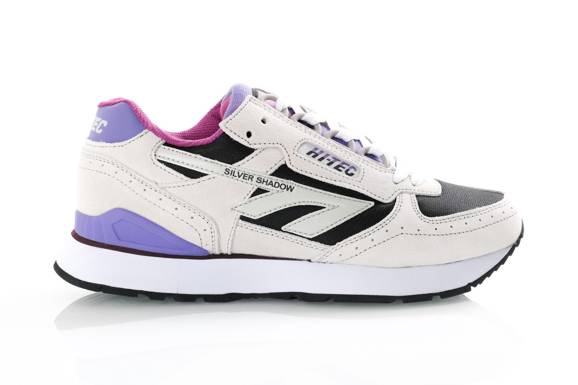 Foto van Hi-Tec Silver Shadow S010001/091 Sneakers Grey/Black/Purple/Bzyzantium