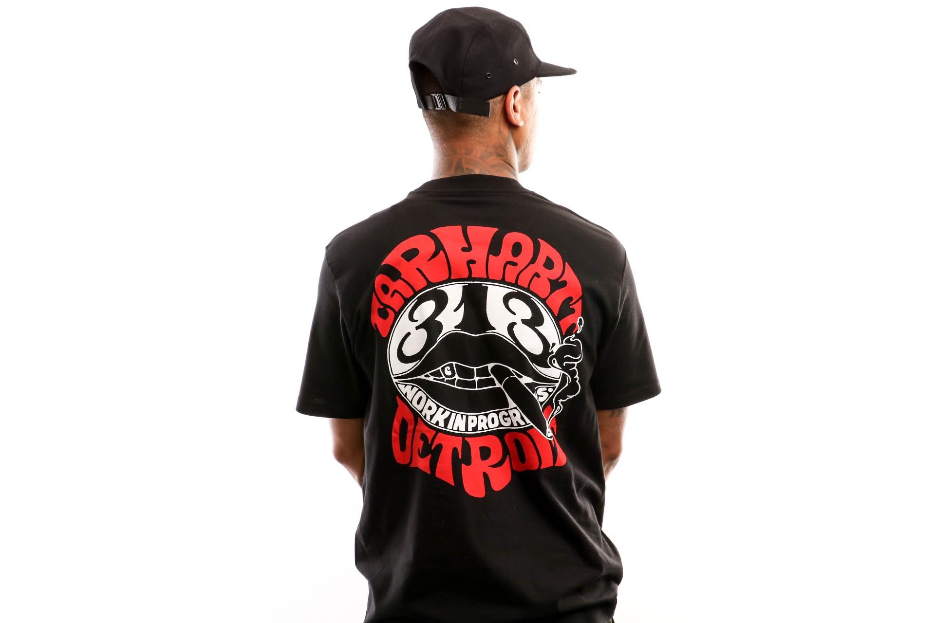 Foto van Carhartt Wip S/S Clearwater T-Shirt I027096 T Shirt Black