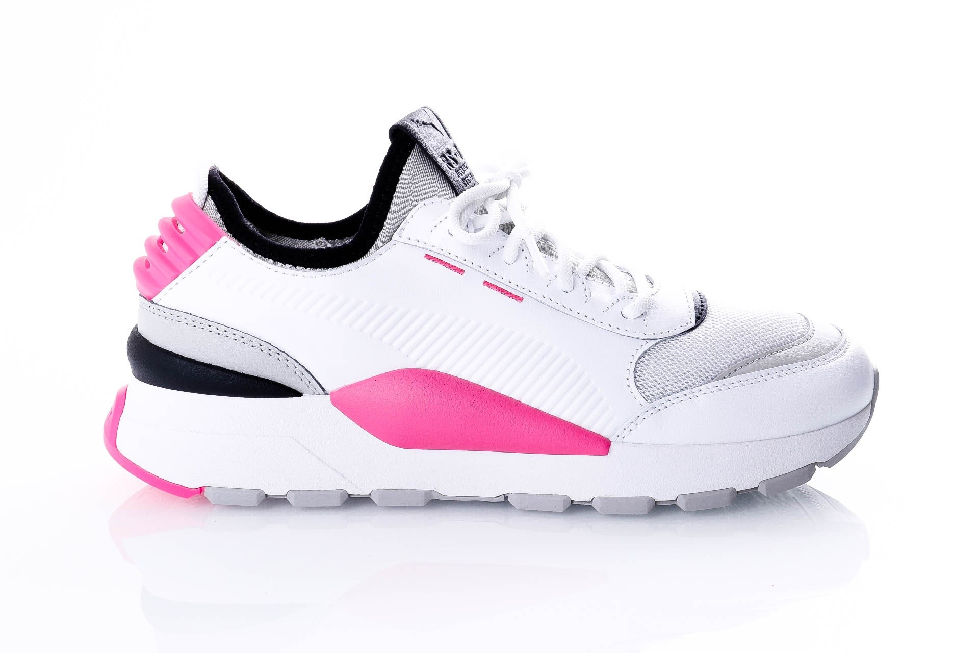 Foto van Puma RS-0 808 366890 Sneakers puma white-grey violet-knockout pink