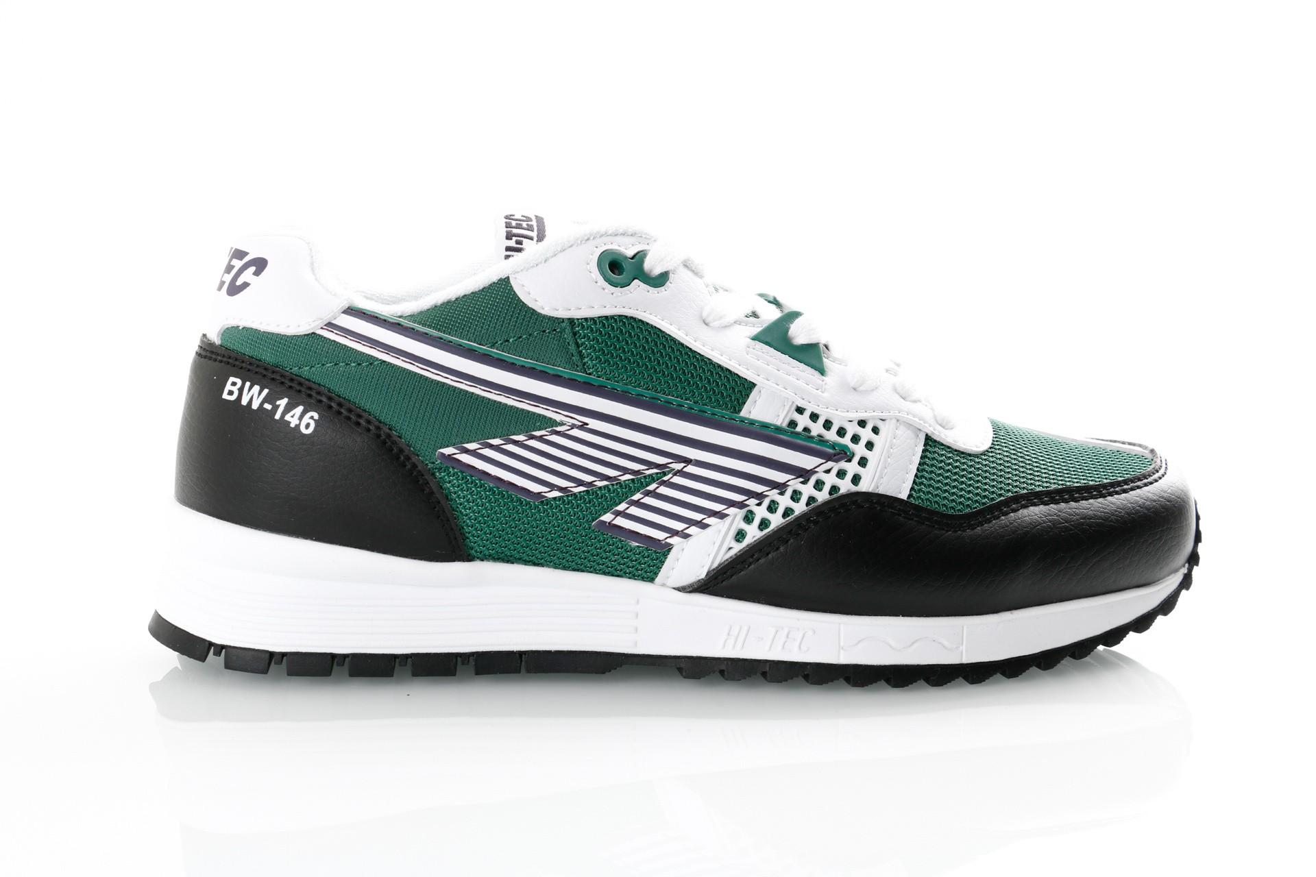 Foto van Hi-Tec Bw 146 S010003/011 Sneakers White/Green / Purple