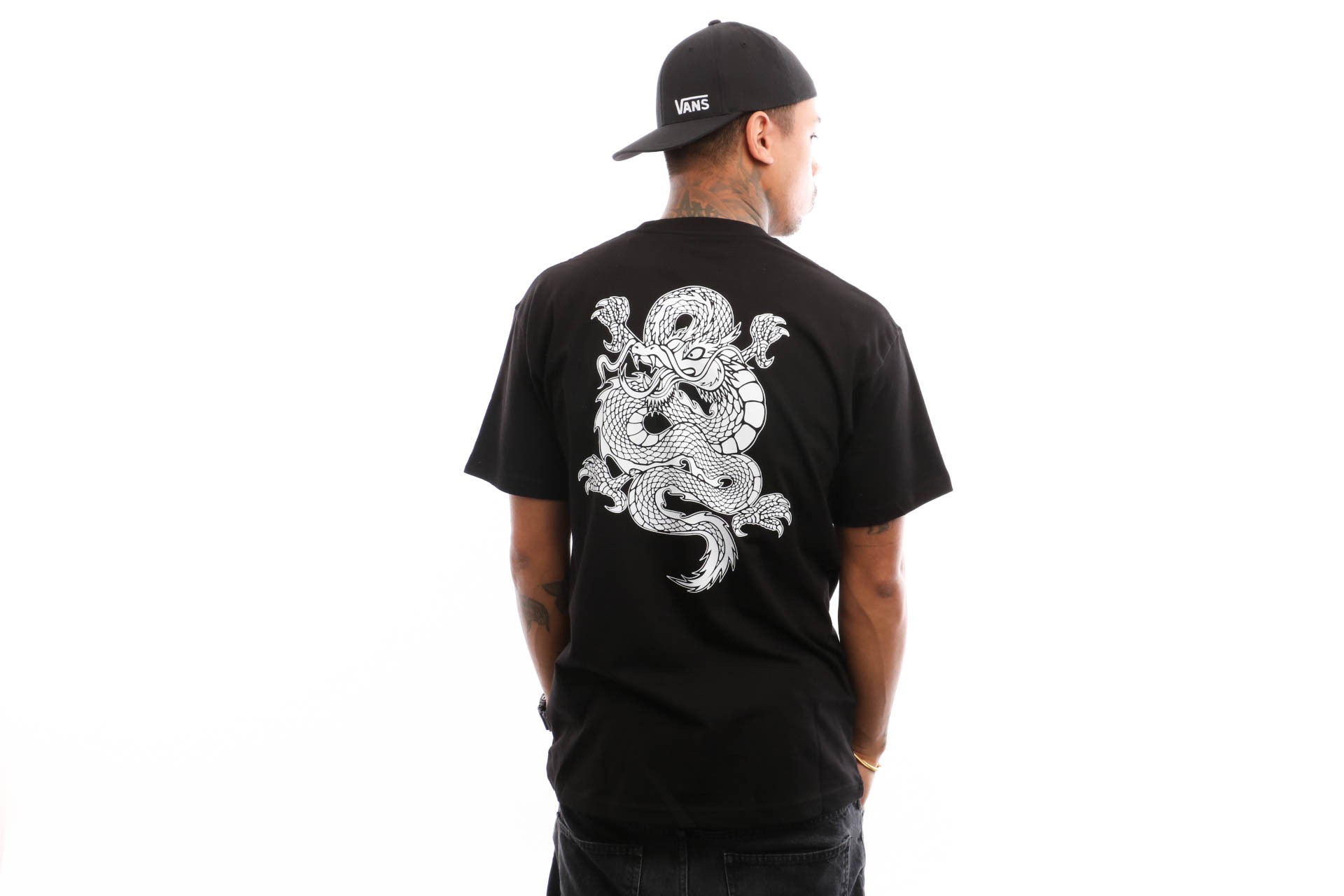 Foto van Vans Puff Ss VA3HXTBLK T shirt Black