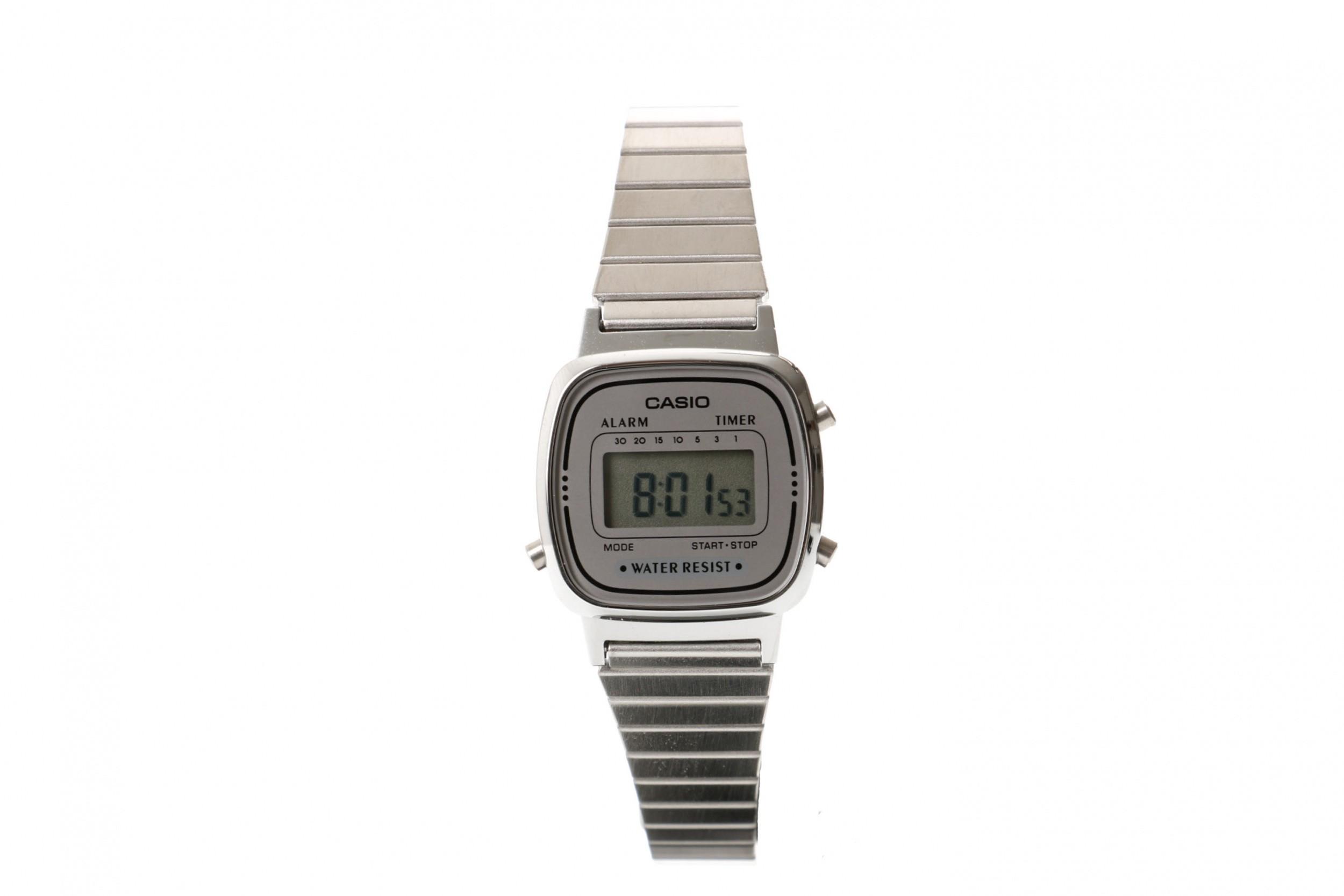 Foto van Casio Vintage LA670WEA-1EF Watch LA670WEA Zilver