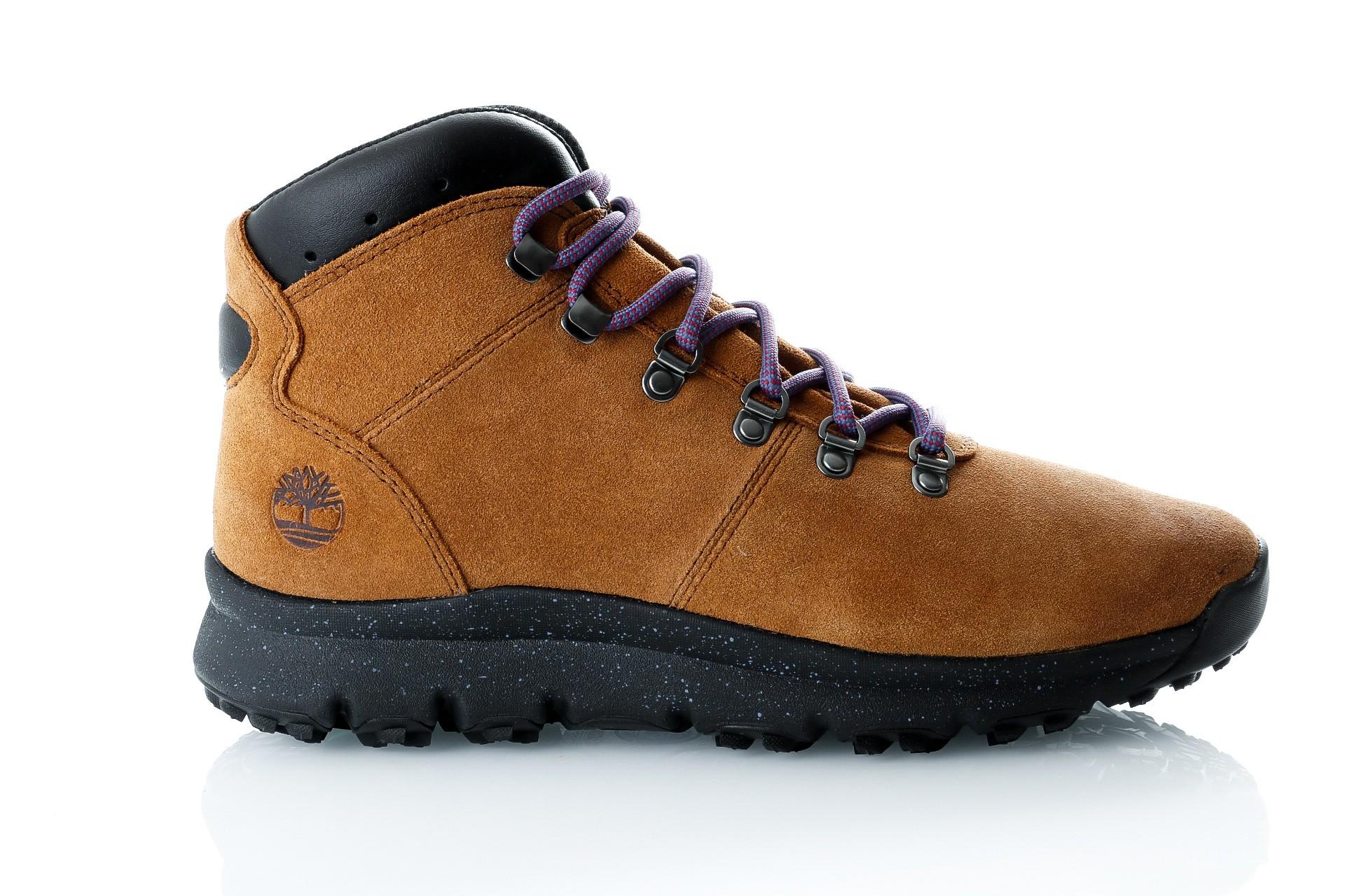 Foto van Timberland World Hiker Mid TB0A1QJCD511 Sneakers TRAPPER TAN