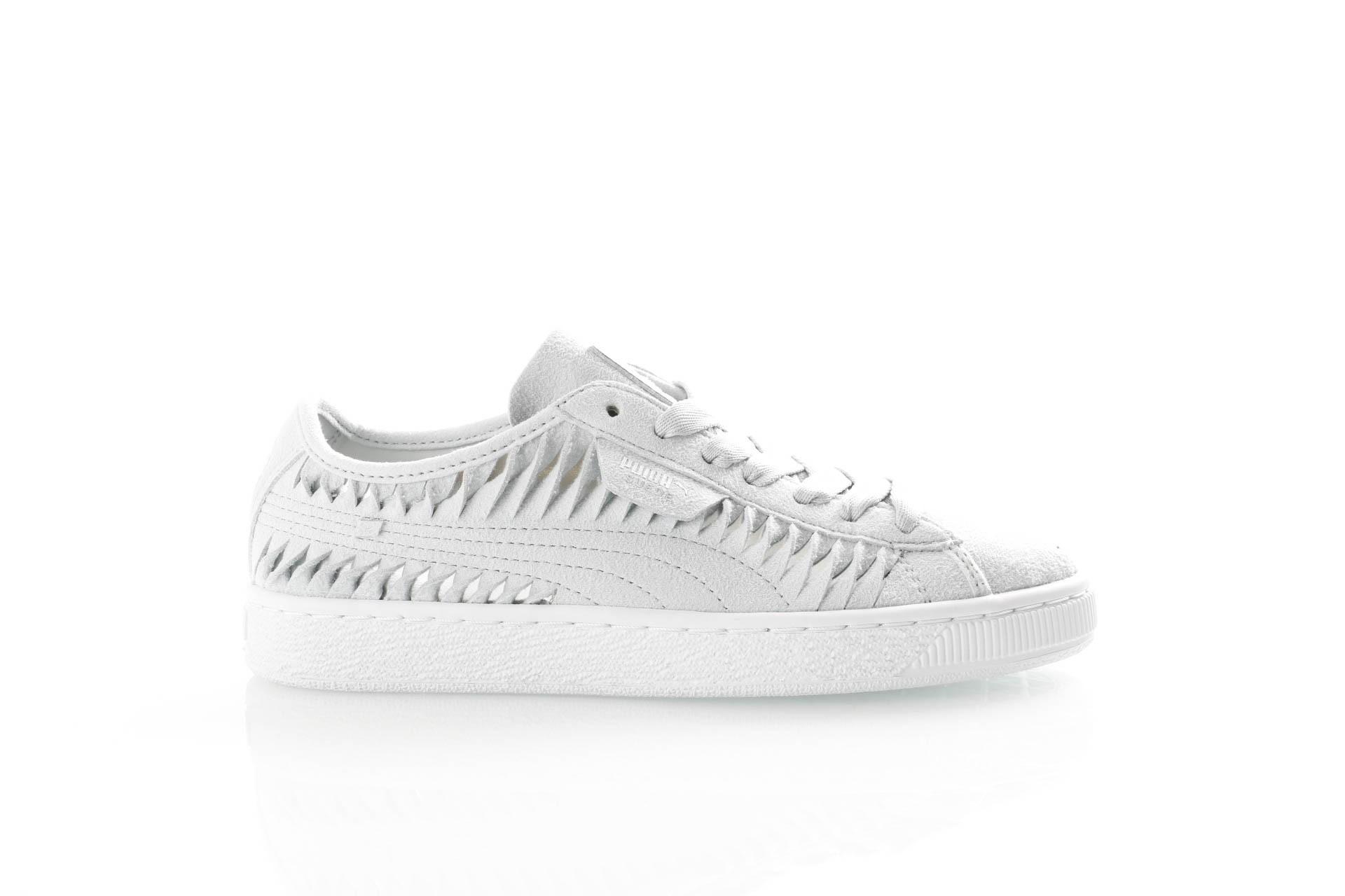 Foto van Puma Ladies 365471-01 Sneakers Suede entwine Grijs