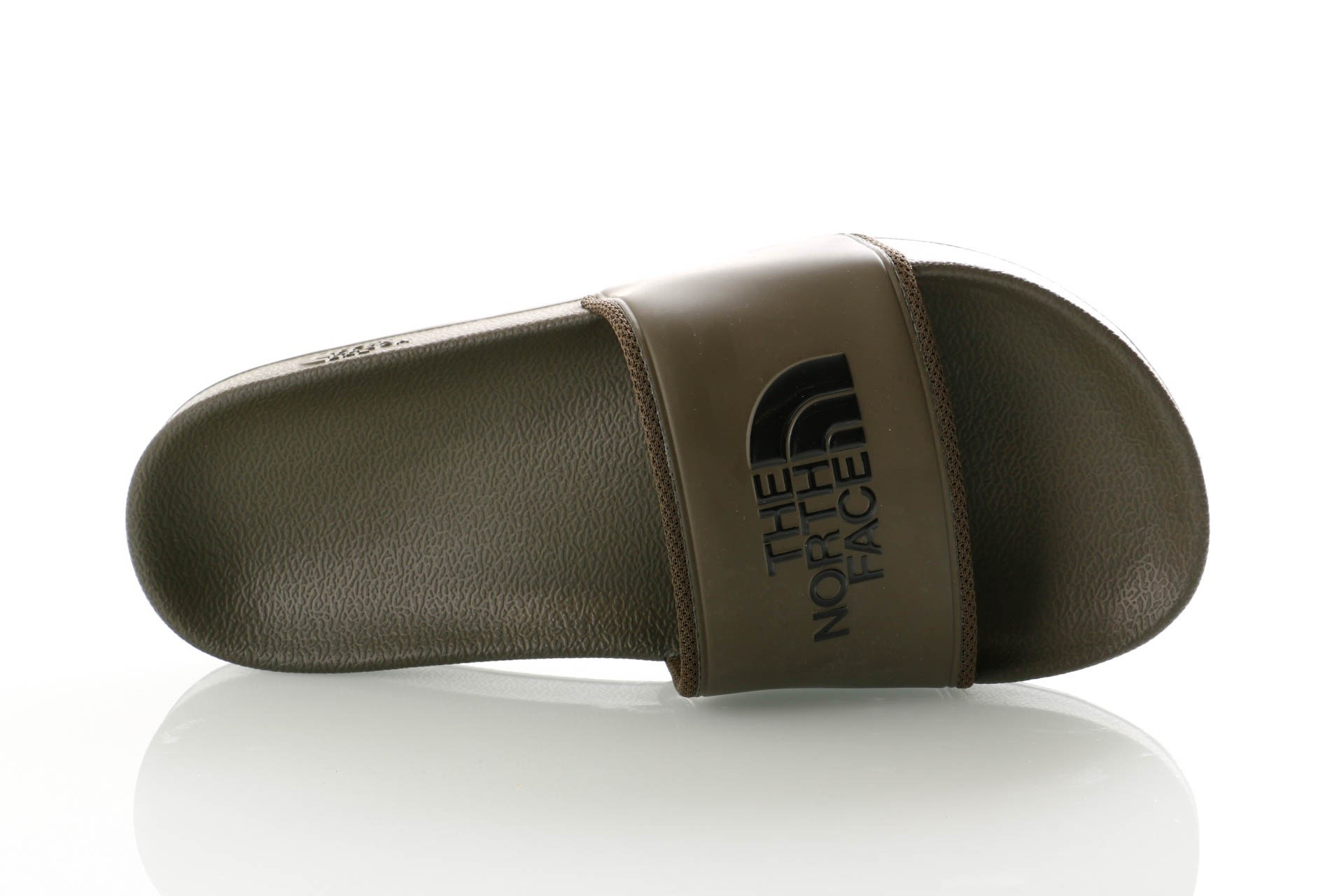 Foto van The North Face M BC SLIDE II T93FWO5UA slippers TARMAC GREEN/TNF BLACK