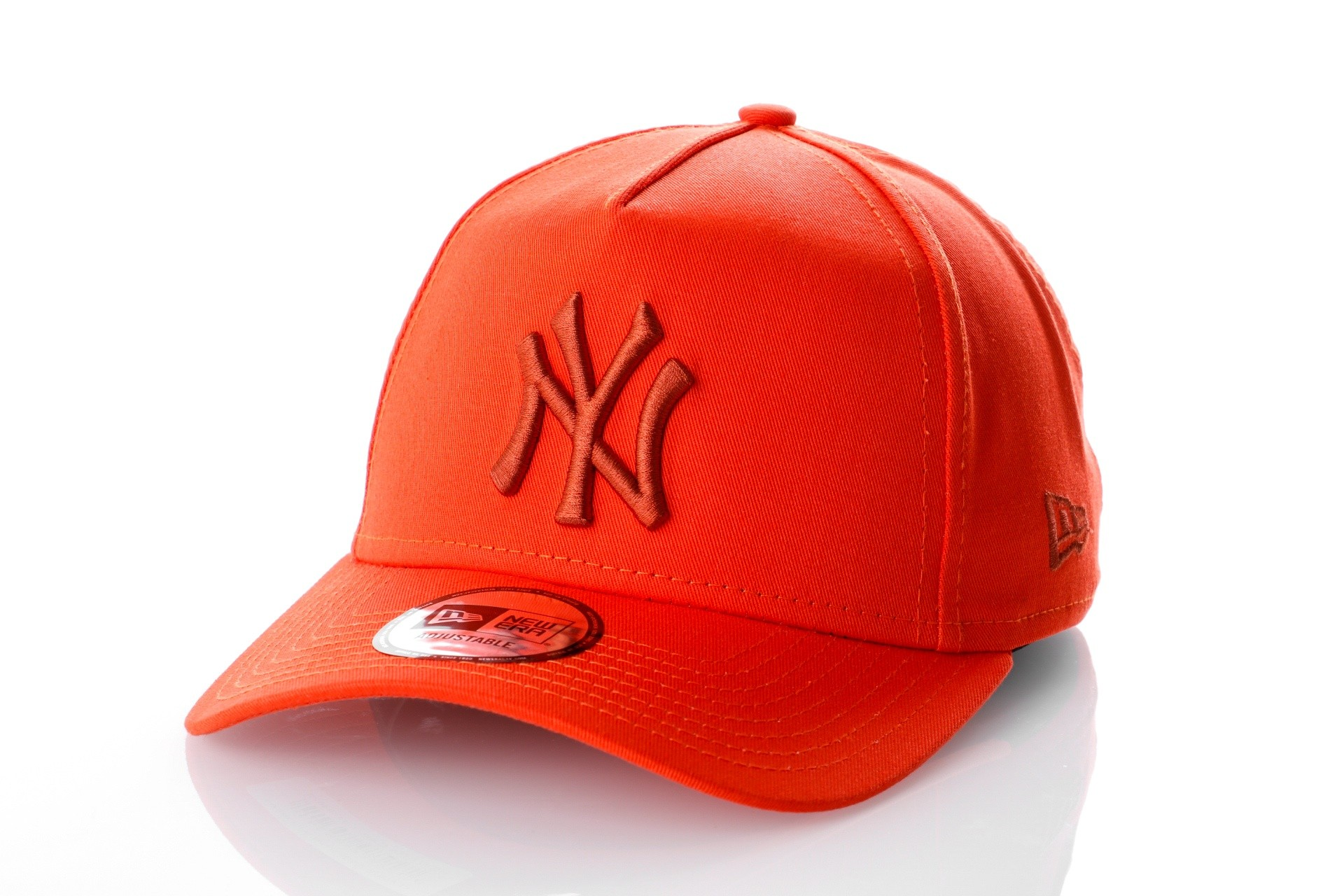 Foto van New Era LEAGUE ESSENTIAL AFRAME NEW YORK YANKEES 11794673 Dad cap ORANGE/OPEN MARKET ORANGE MLB