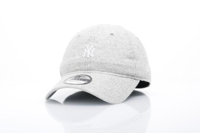 Afbeelding van New Era 80524773 Dad cap Herringbone 940 NY Yankees Grijs