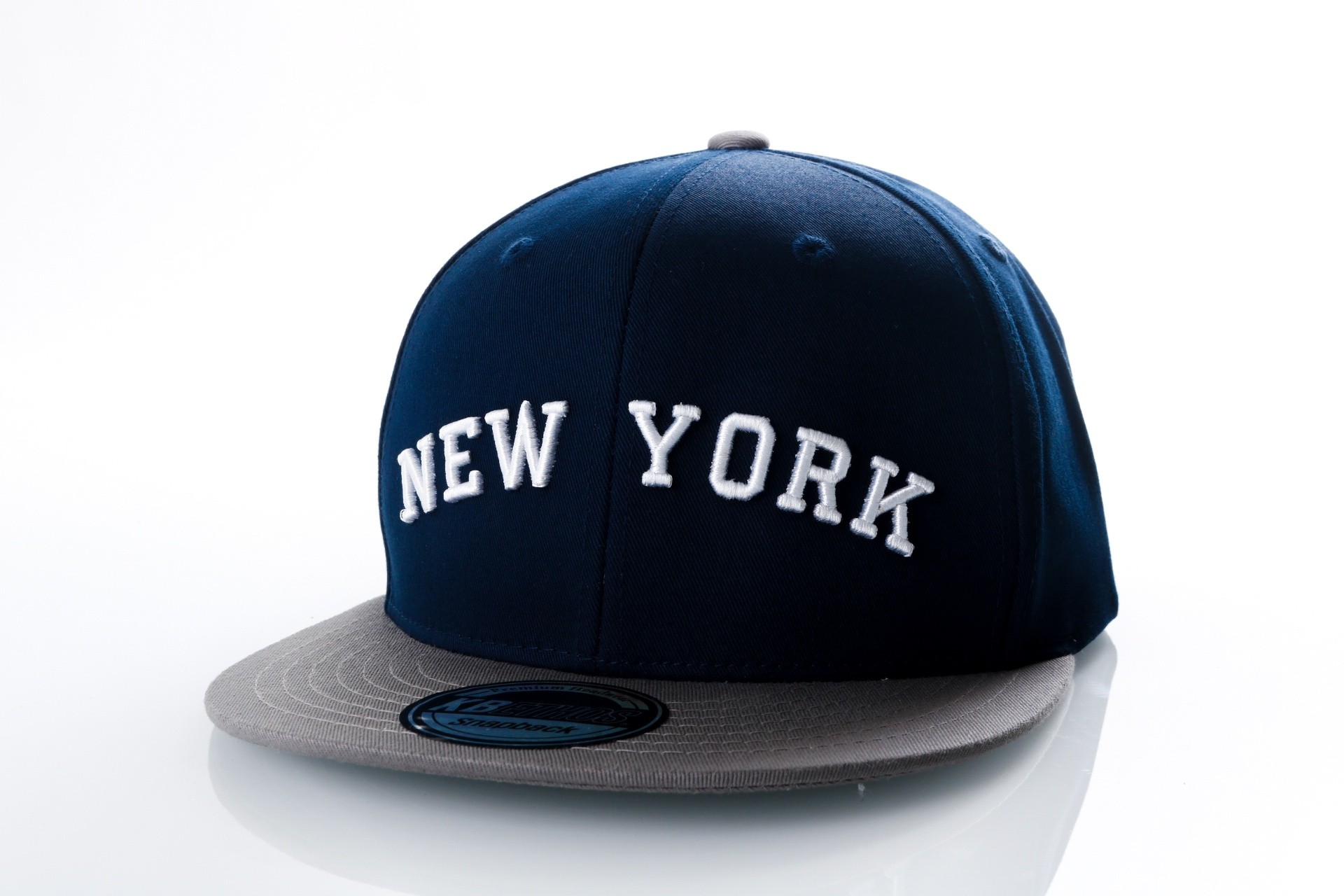Foto van Ethos New York KBN-500NY Navy/light grey KBN-500NY dad cap Navy/light grey