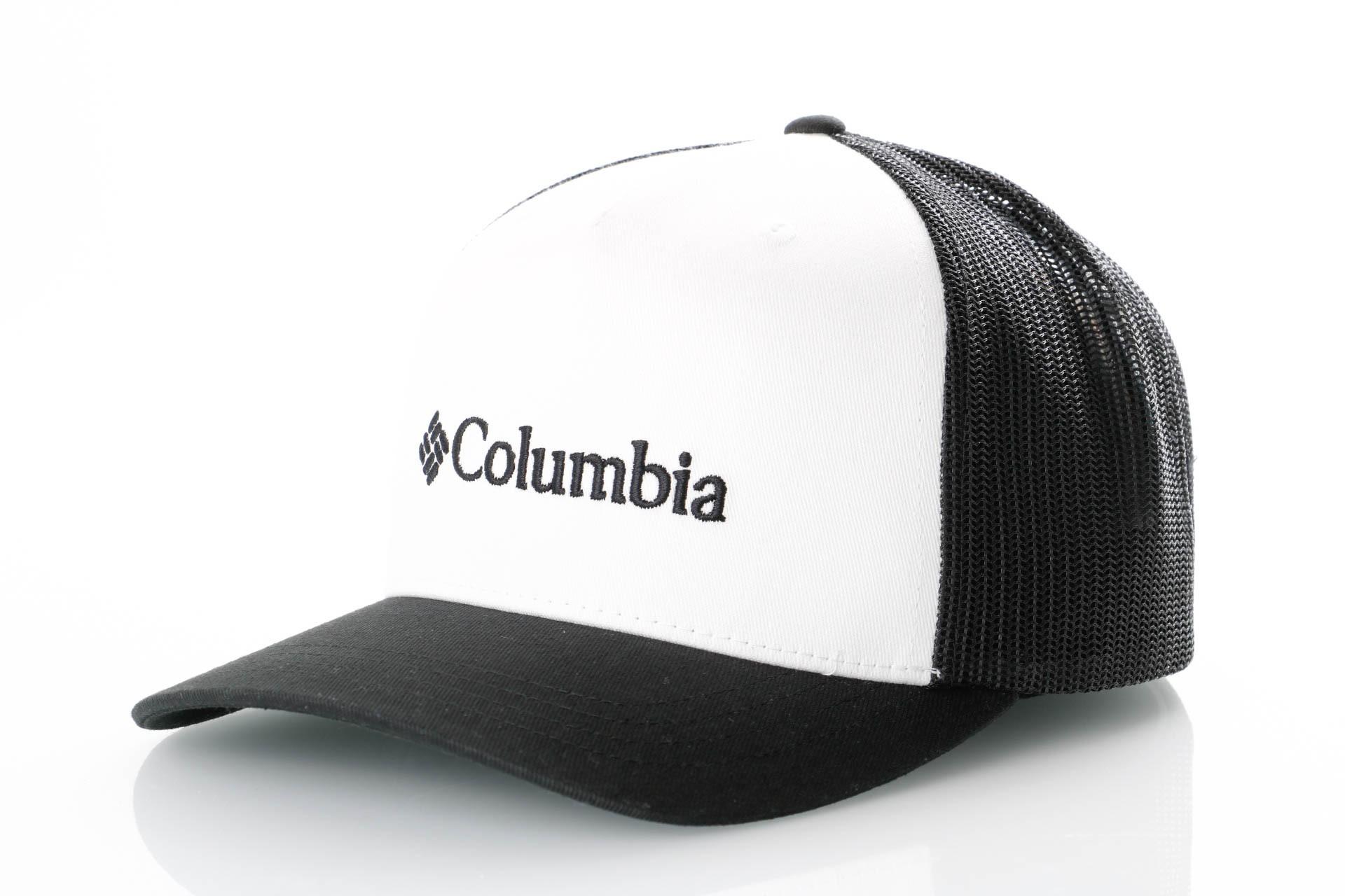 Foto van Columbia CSC Trucker Ballcap 1869101100 Trucker Cap White Black
