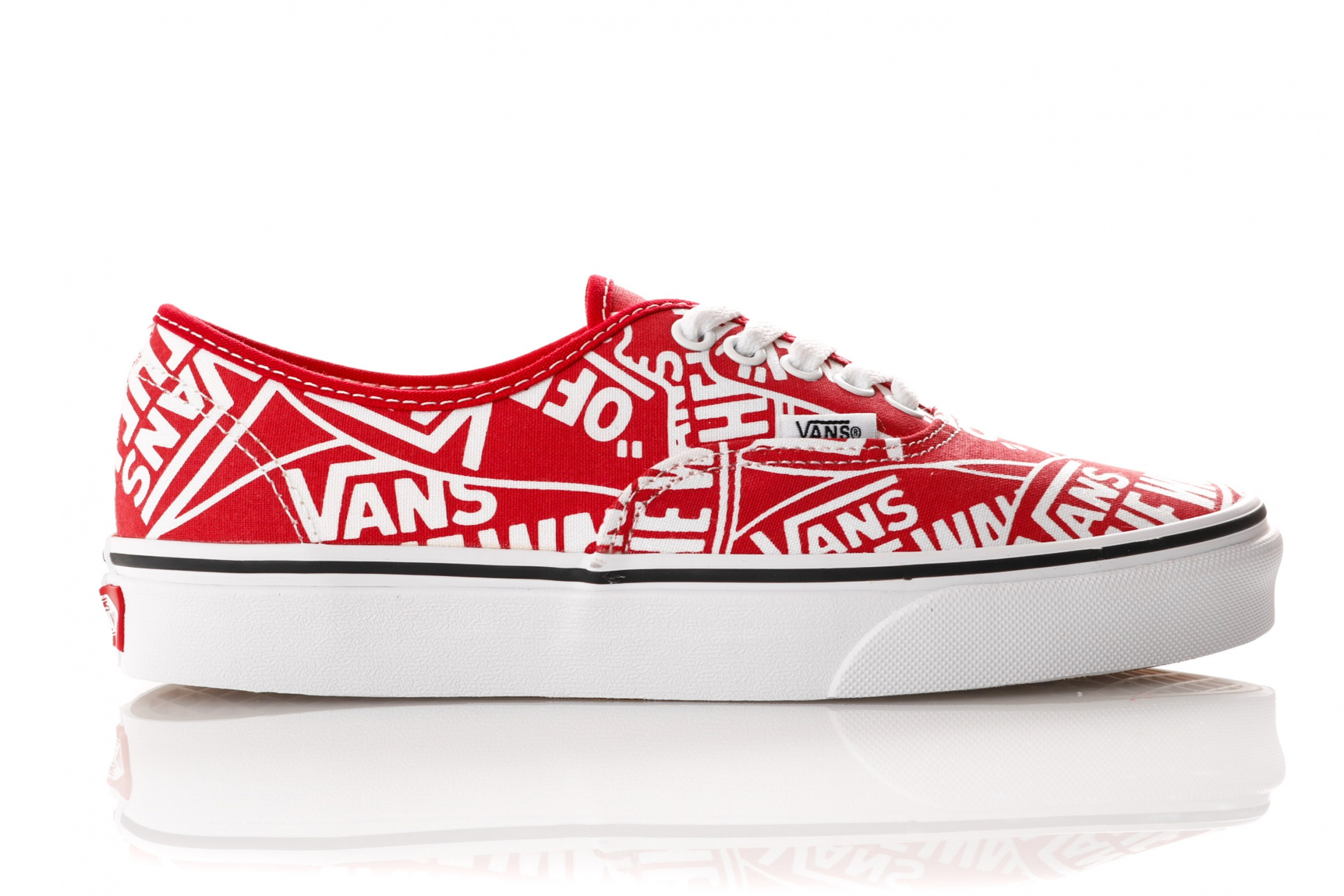 2aaeb028abb Vans UA Authentic VN0A38EMUKL1 Sneakers (OTW REPEAT) RED/TRUE WHI