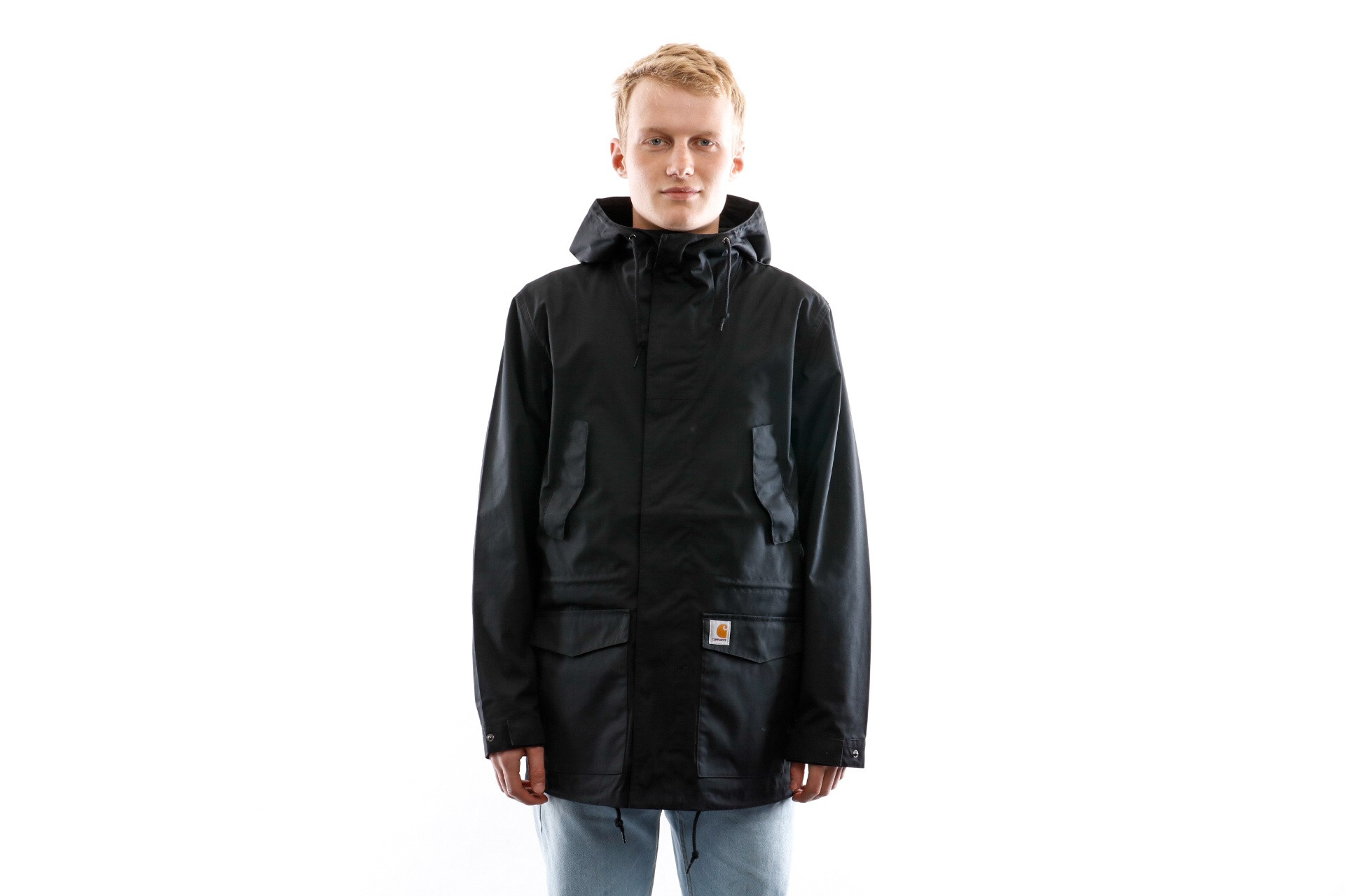 Foto van Carhartt WIP Jacket Battle Parka Black I017798