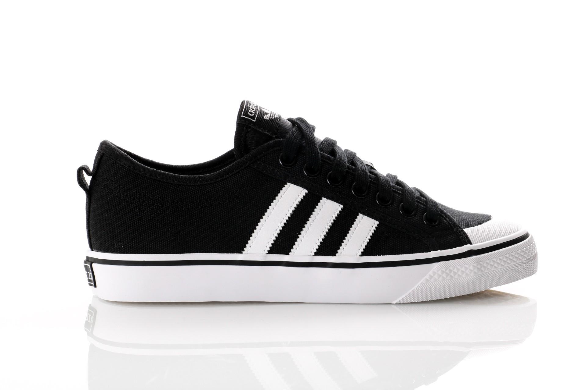 Foto van Adidas Originals CQ2332 Sneakers Nizza OG Zwart