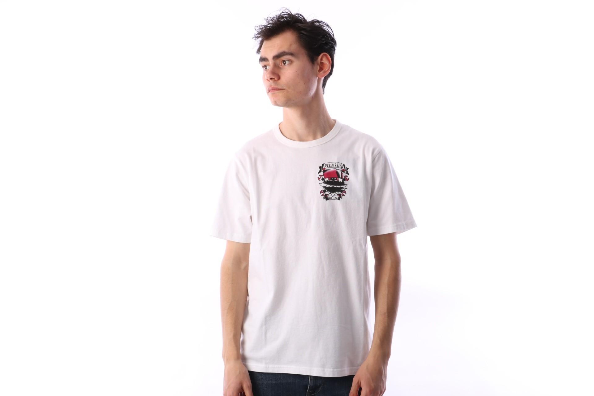 Afbeelding van Dickies 06 210588-WH T-shirt Ore city Wit