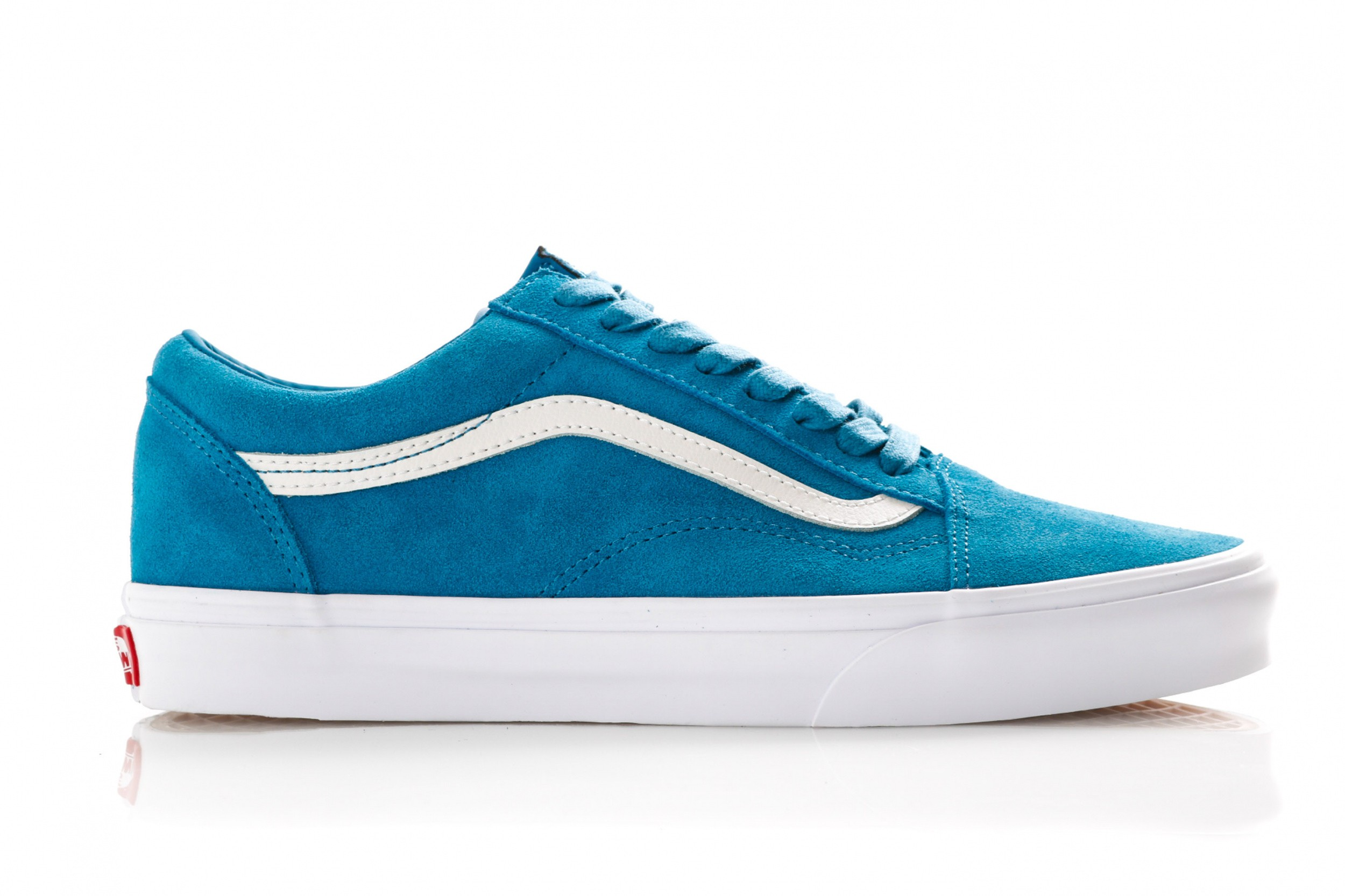 7cae0f63406 Vans Ua Old Skool Vn0A38G1Vkd Sneakers (Soft Suede) Blue Sapphire/True White