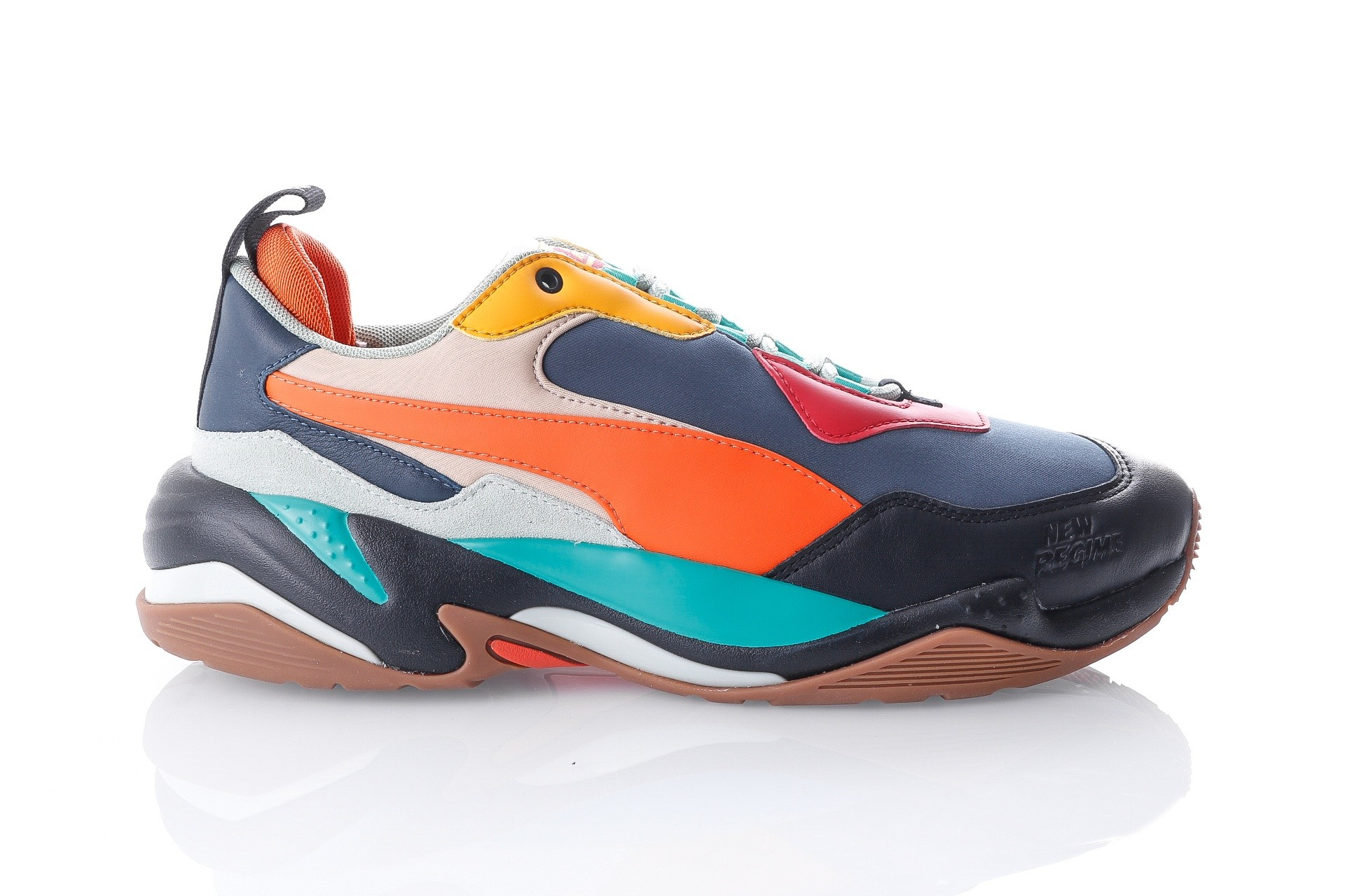 Foto van Puma Thunder ANR 36804201 Sneakers Blue Wing Teal-Pebble