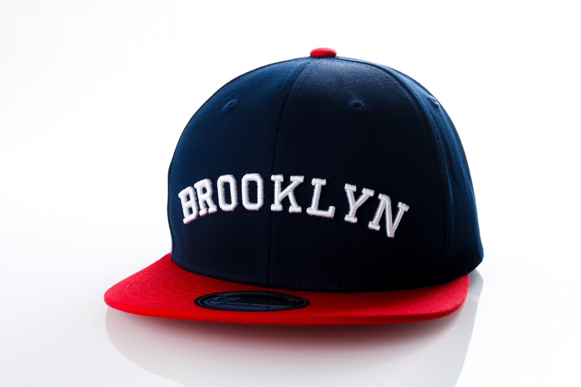 Foto van Ethos Brooklyn KBN-500BN navy/red KBN-500BN dad cap navy/red