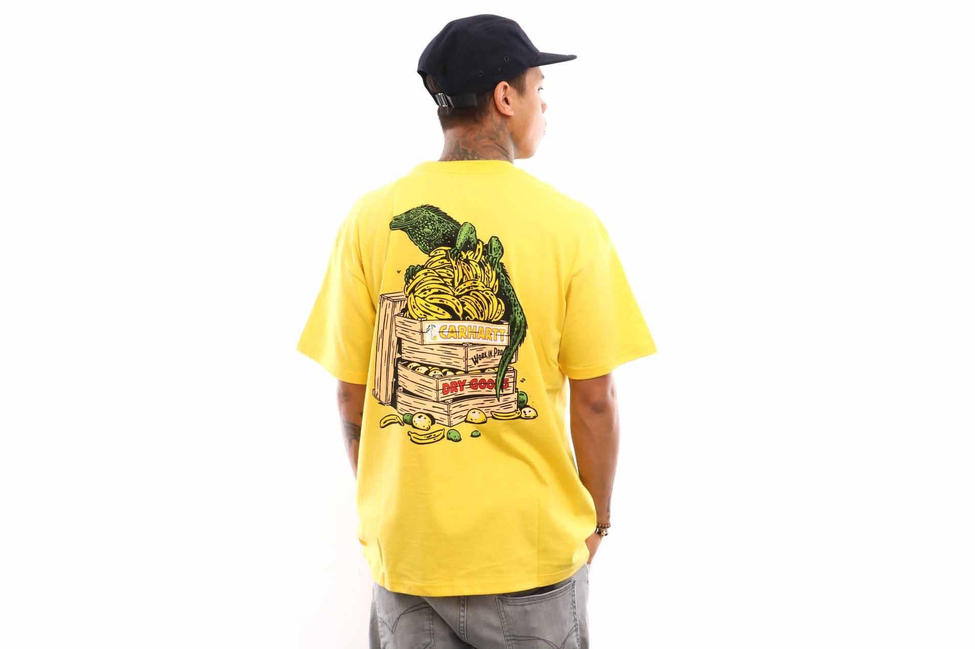 Foto van Carhartt WIP S/S Bad Cargo T-Shirt I026440 T shirt Primula