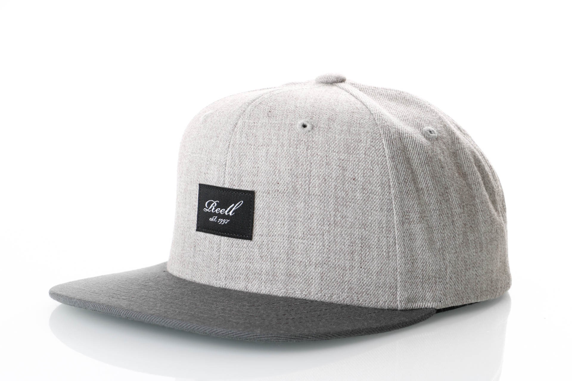 Foto van Reell Pitchout Cap 1402-041 Snapback Cap Heather L. Grey / Grey Black