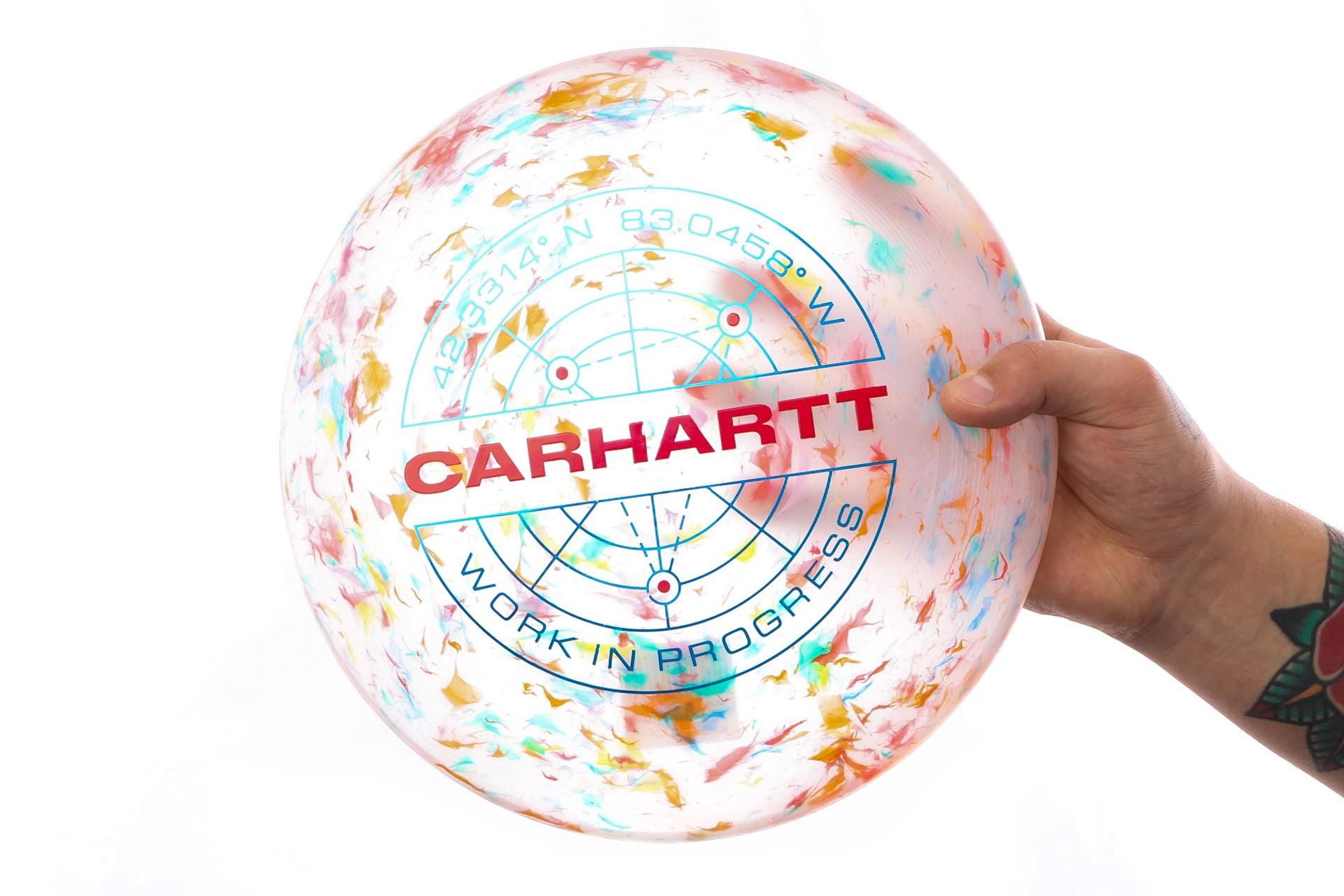 Foto van Carhartt WIP Frisbee I023176 Frisbee Multicolor